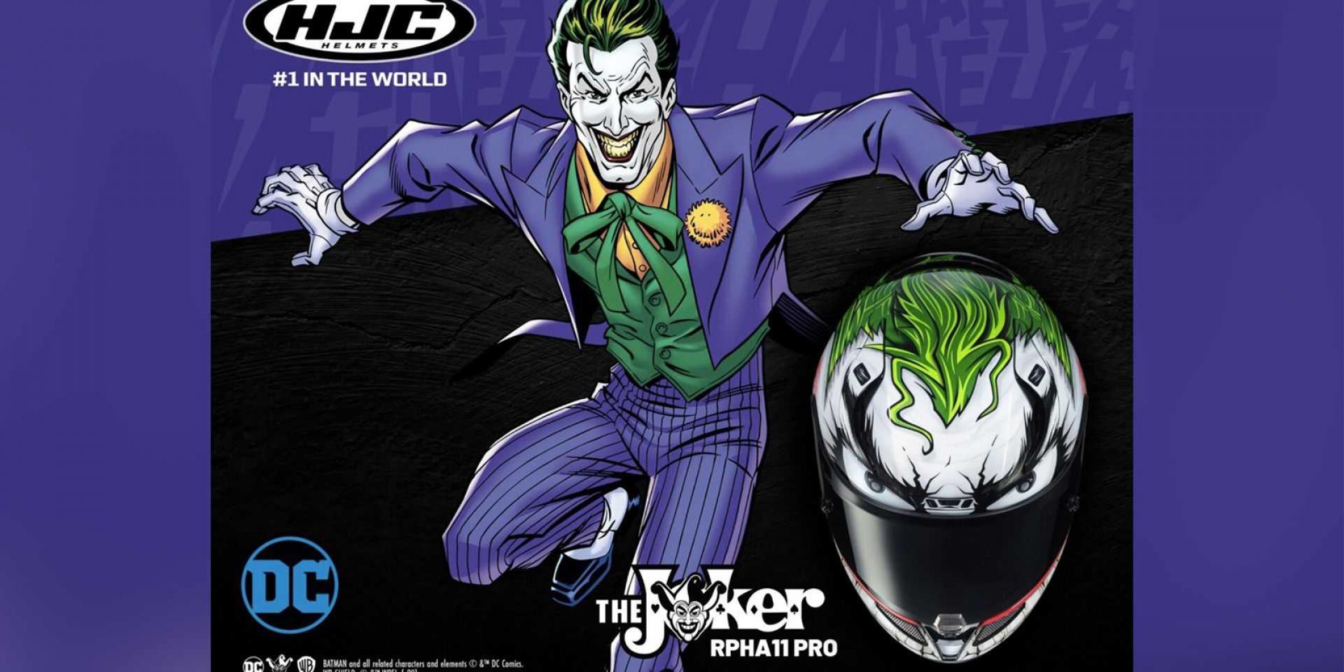 Why So Serious?HJC推出Joker聯名安全帽!