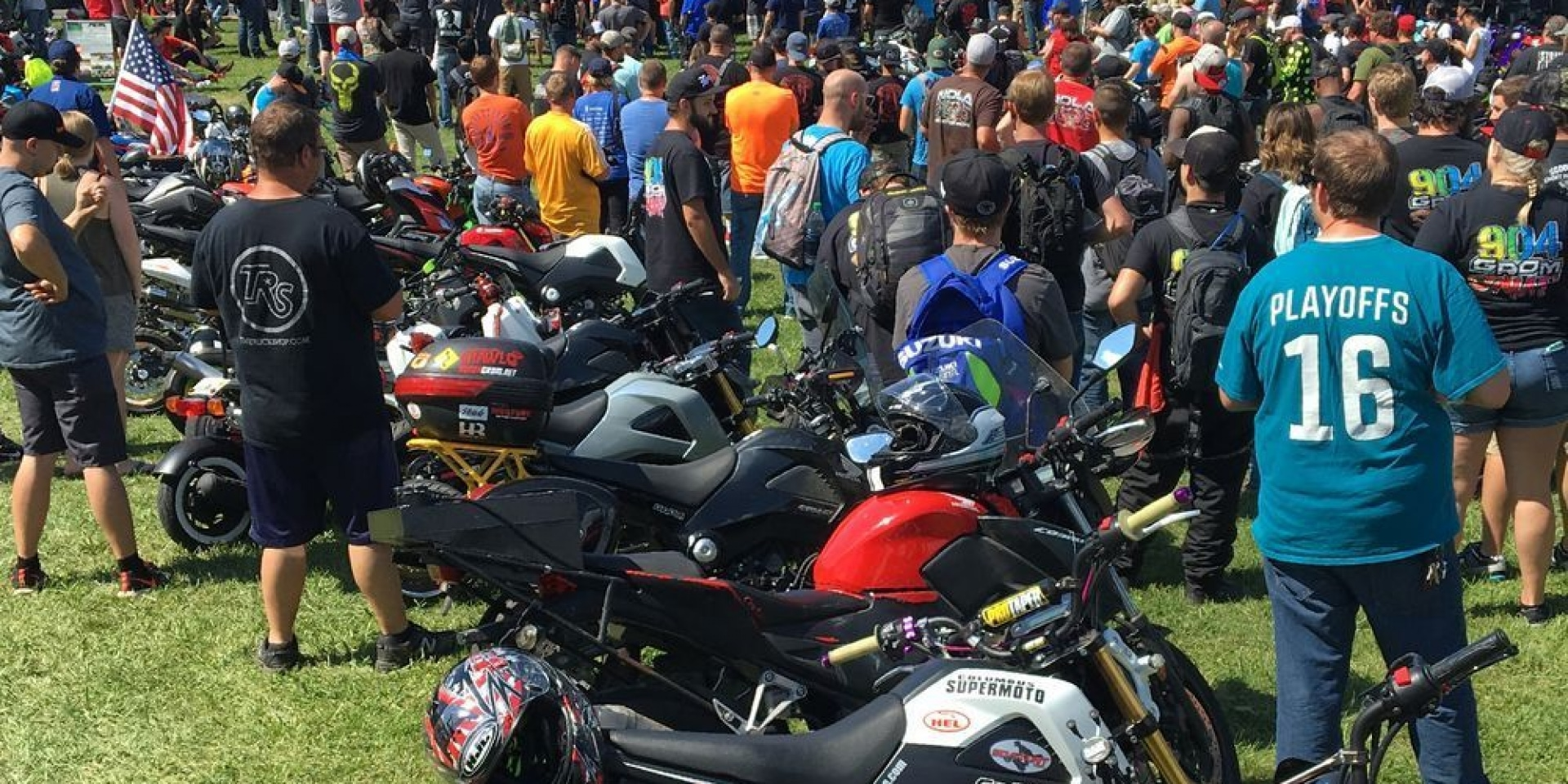 Small-Bore Motorcycle Festival in the Smoky Mountains 美國大煙山 小車狂歡節