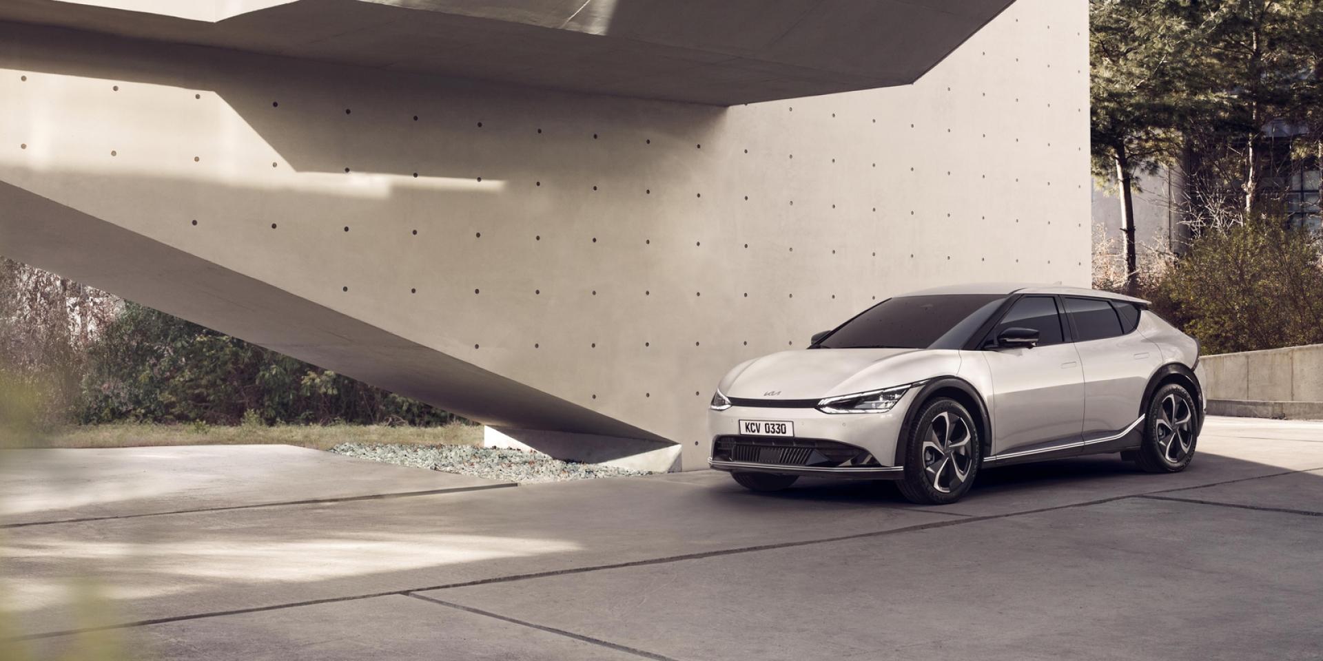 一窺品牌新設計哲學!Kia新平台電動車「EV6」首發亮相