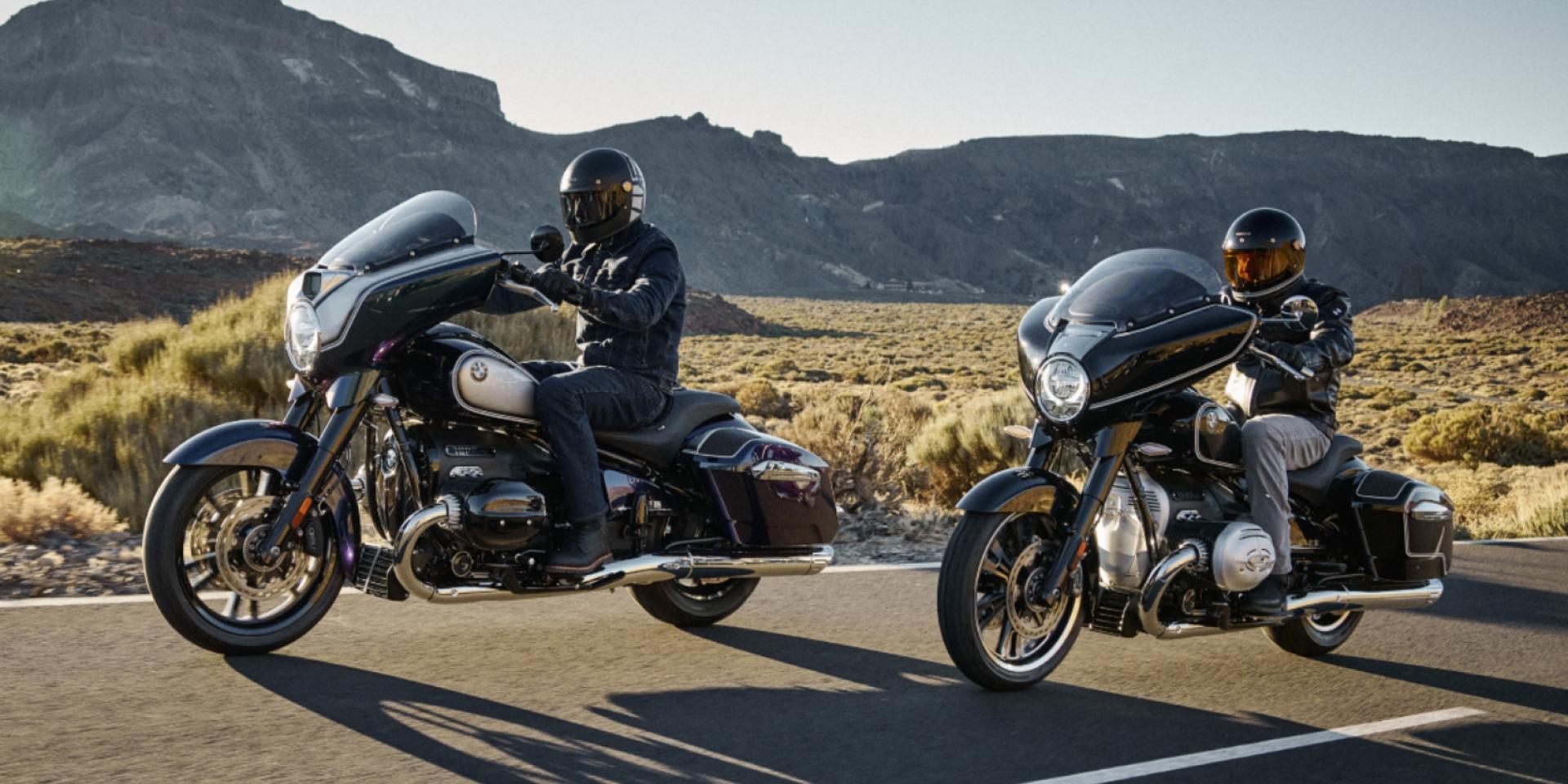 德式巨無霸。BMW Motorrad R18 Bagger/Transcontinental 海外發表!