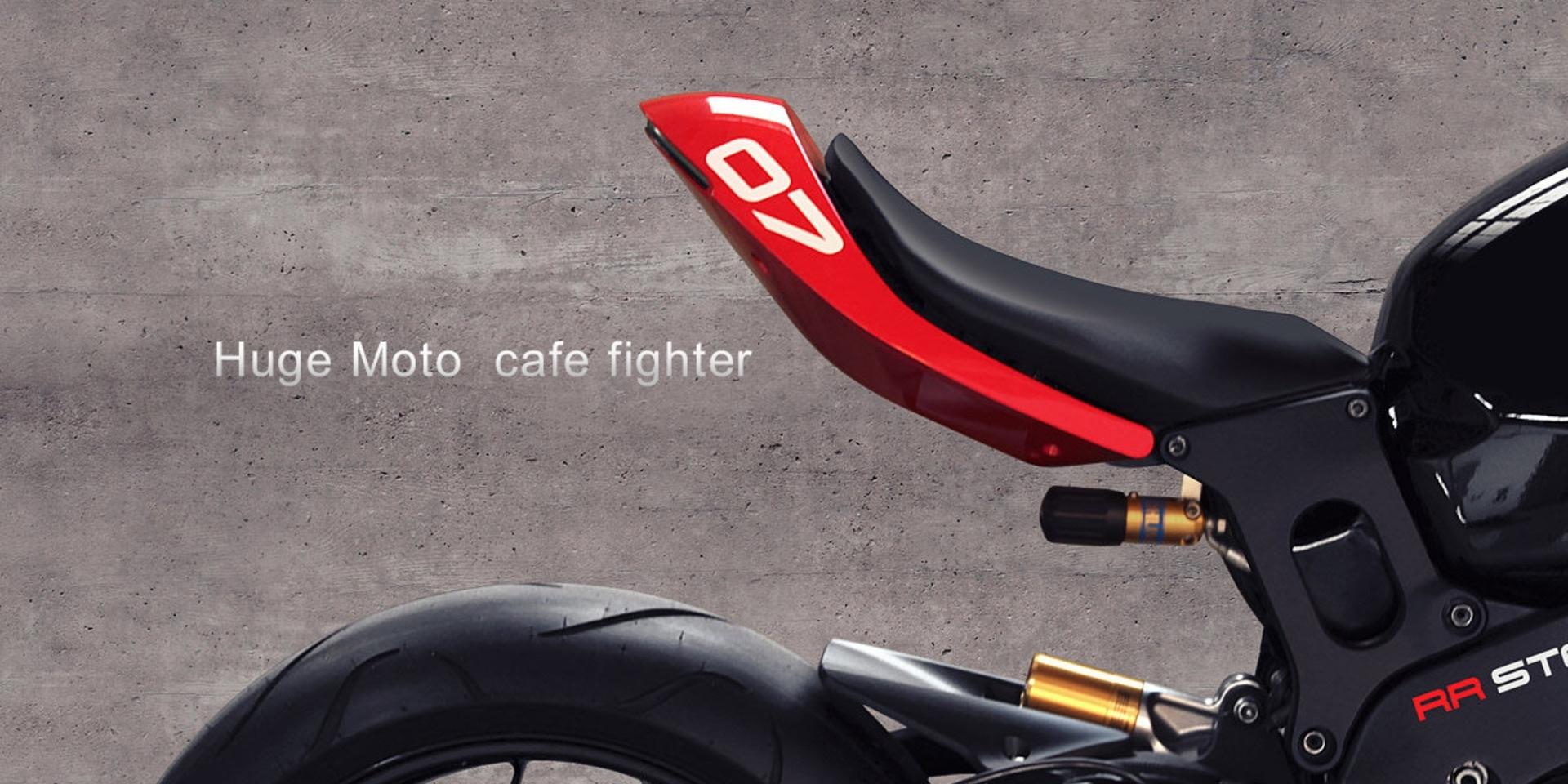 街跑合一。Huge Moto 打造超有型 café fighter 改裝套件