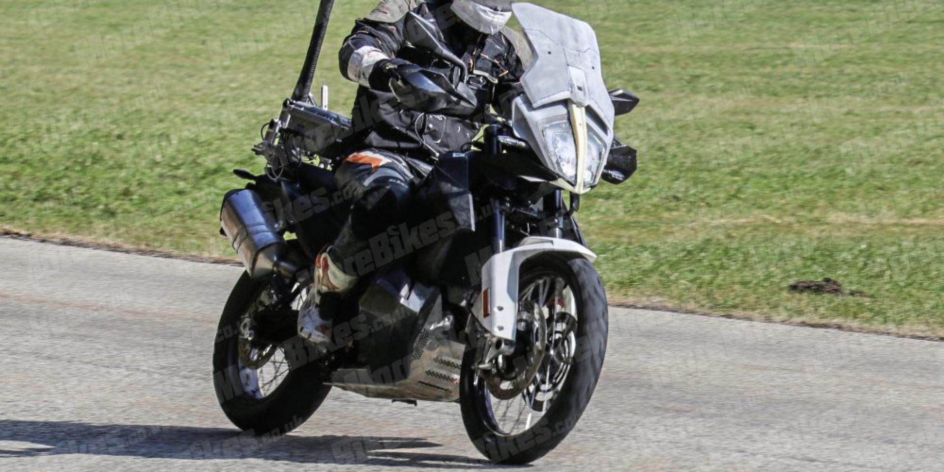 奧地利雙缸公爵。KTM 1290/790 Adventure家族 測試車再度捕獲