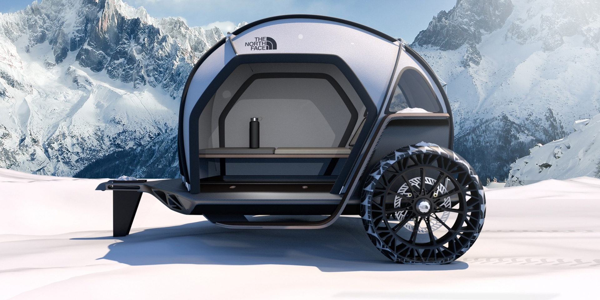 四倍Gore-Tex通風性能!The North Face找來BMW合作展演全新機能布料FUTURELIGHT™
