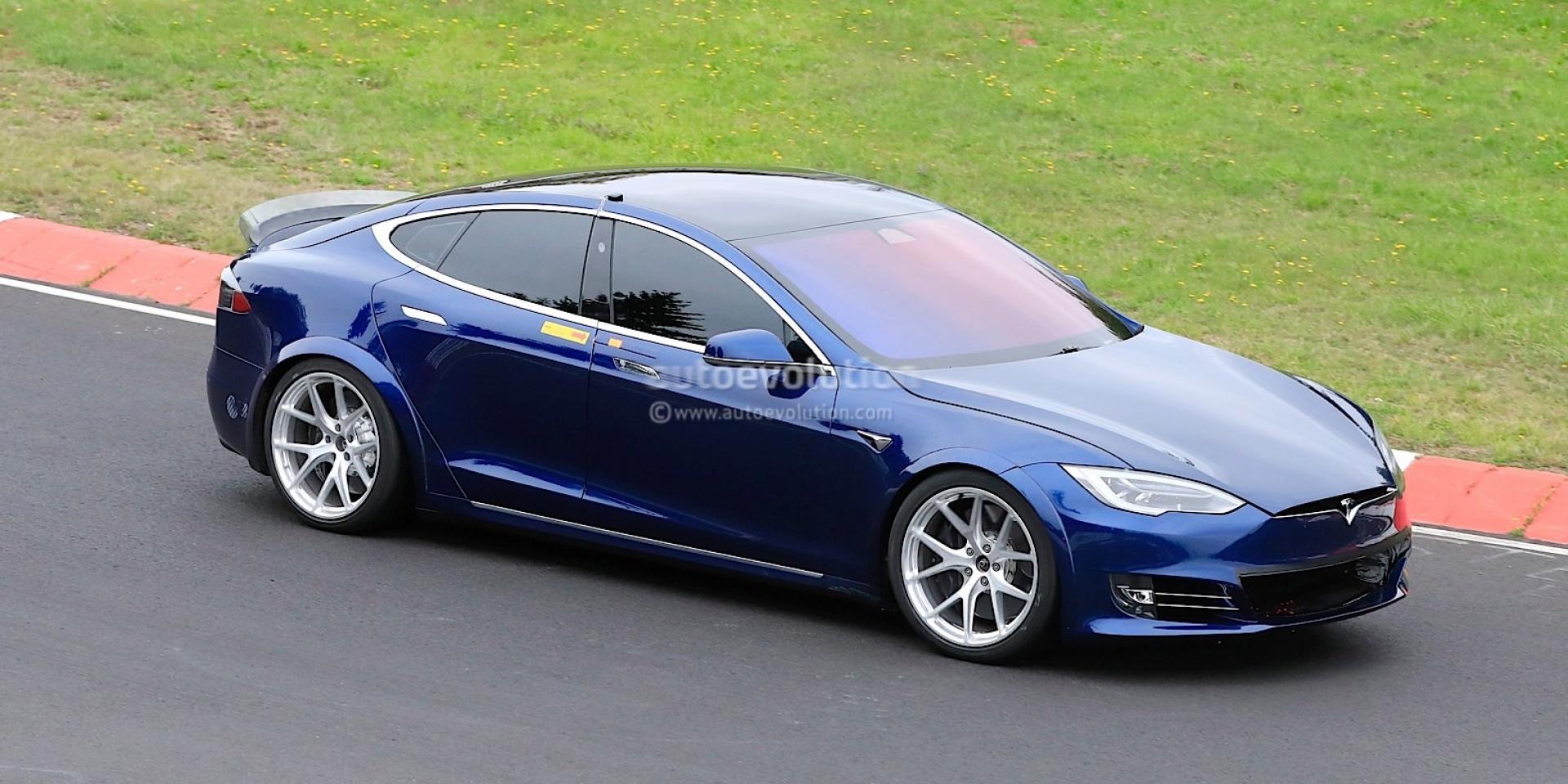 Tesla三馬達車型亮相!Model S Plaid馬力突破1100hp!