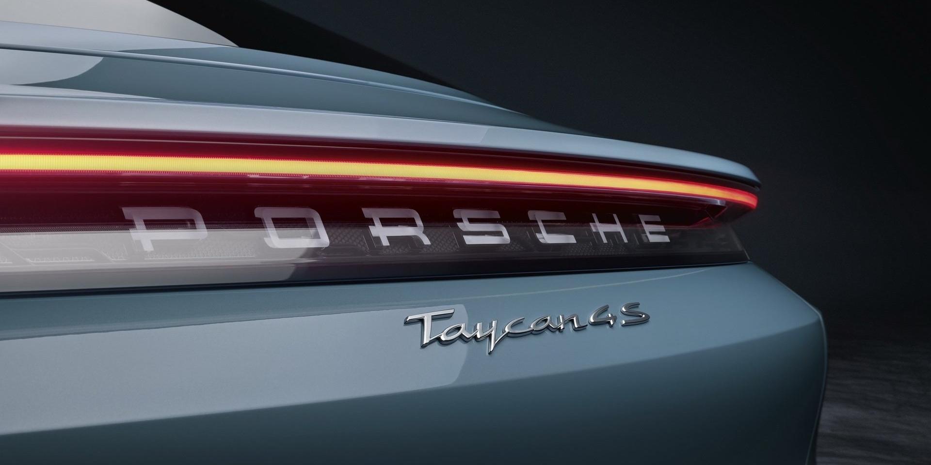 Porsche Taycan 4S正式亮相!530hp續航里程達405kn!