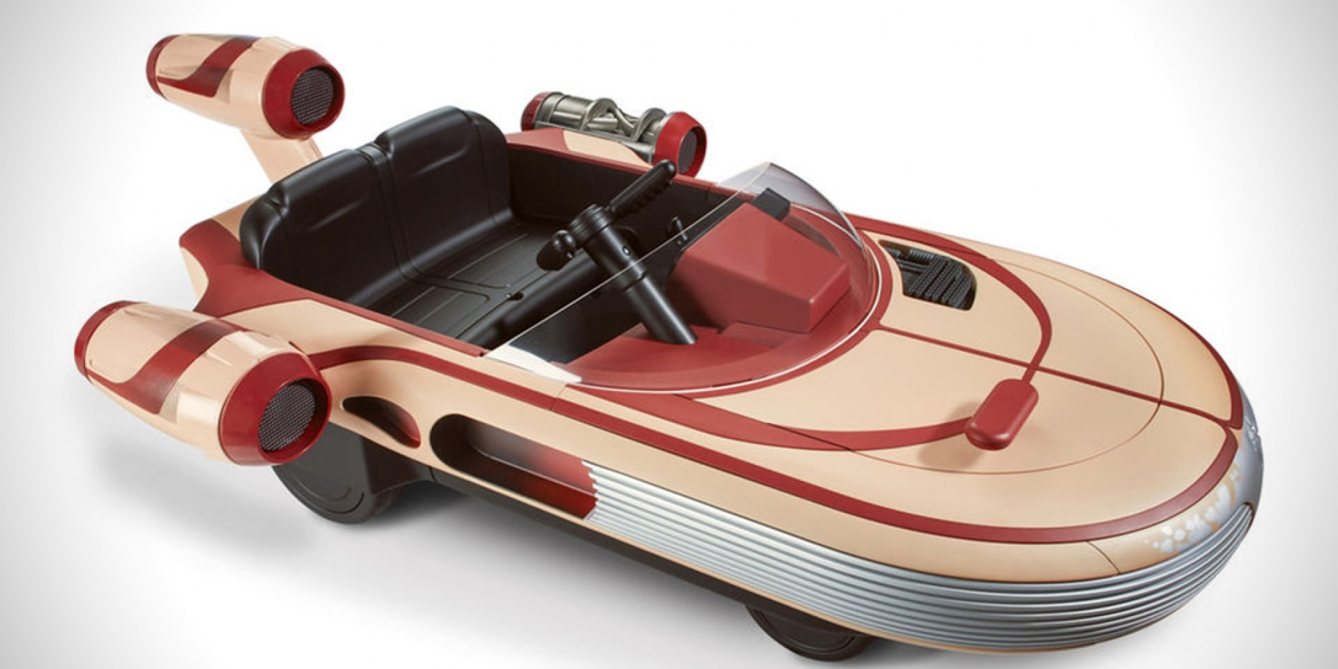 兒童版星戰飛艇。路克.天行者的LANDSPEEDER