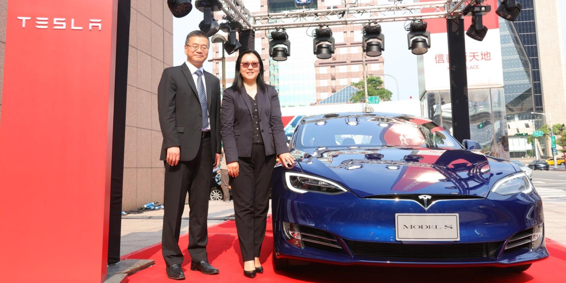 官方新聞稿。Tesla 特斯拉台灣旗艦店正式開幕 創造電動車新里程