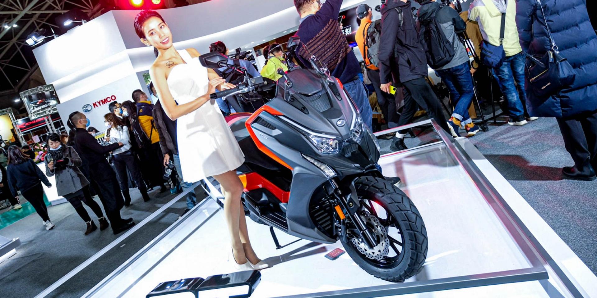 KYMCO DT X360 19.8萬售價公布!KRV、CV3話題新車亮相!