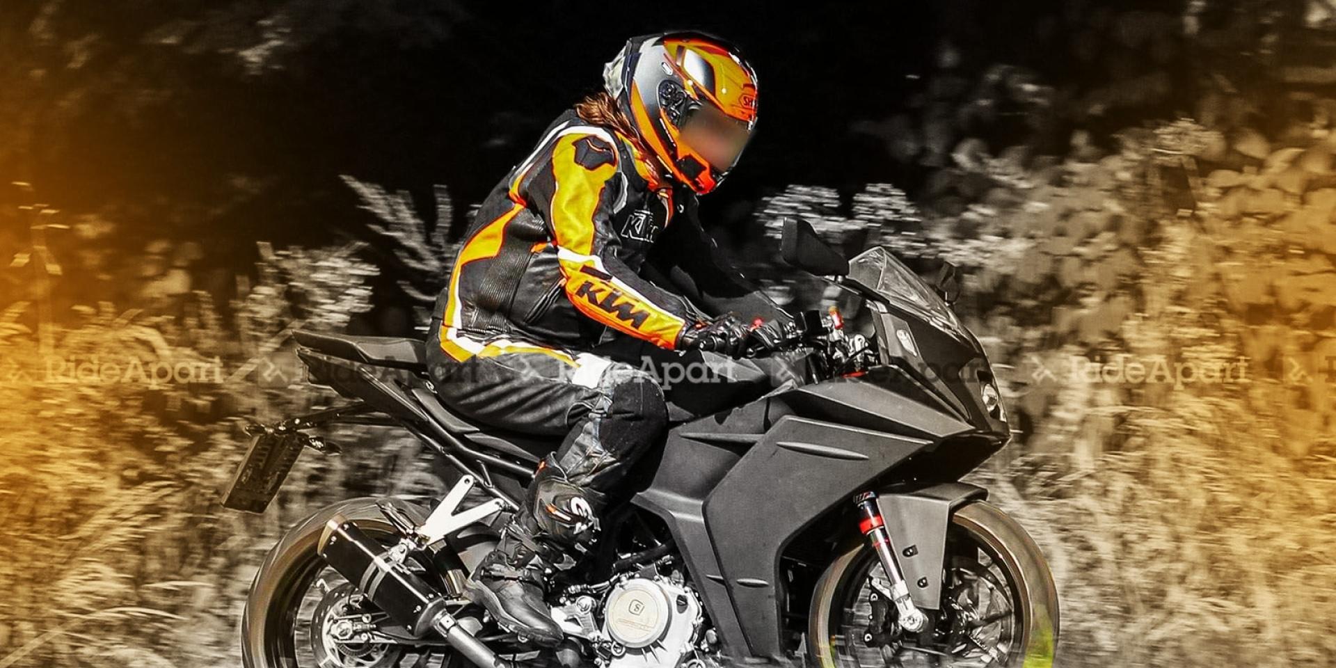 即將發表的中量級仿賽戰將!KTM RC390最新測試圖流出