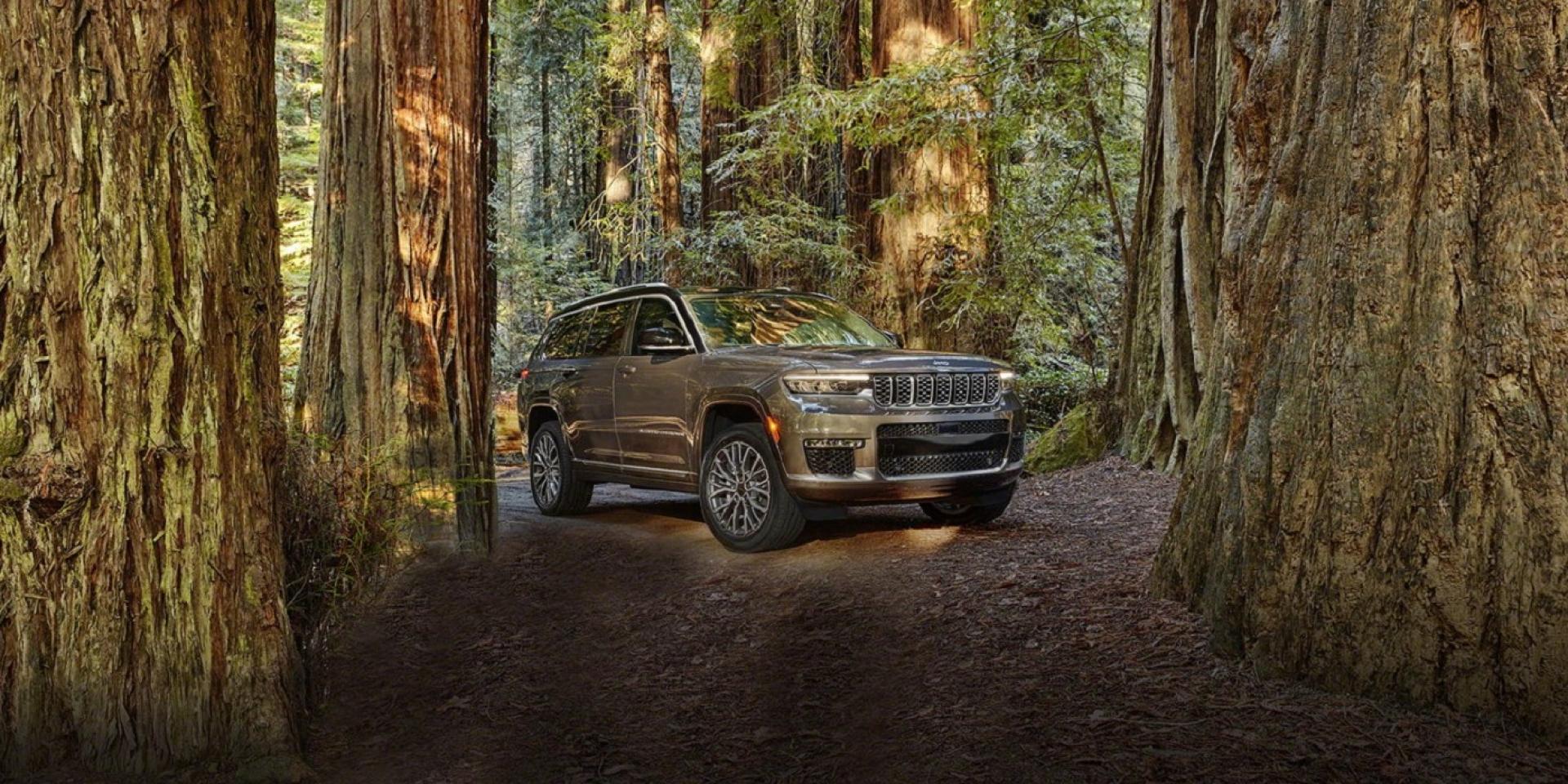 Jeep全尺寸豪華休旅車Grand Cherokee L,展現品牌科技感