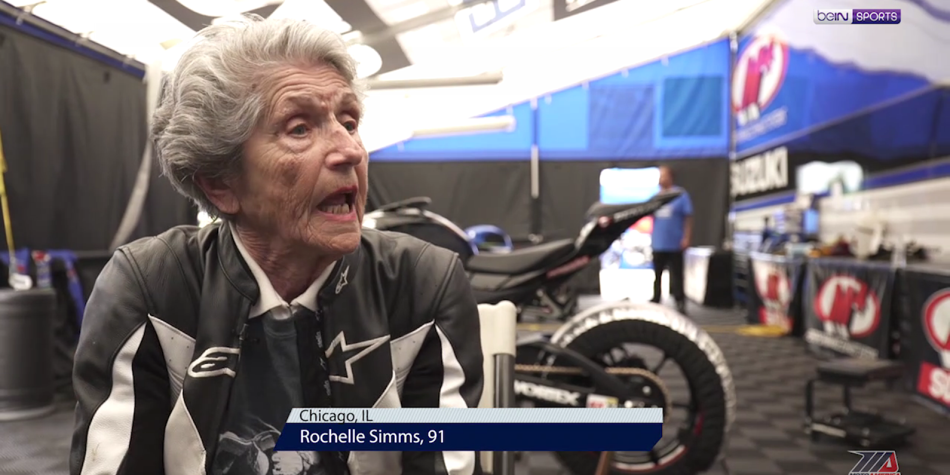 阿嬤膽子都比你大,91歲的時候你敢騎多快?