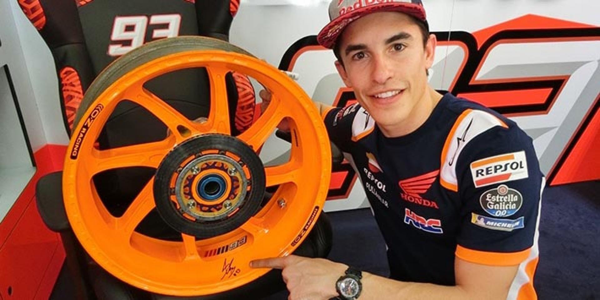 Marc Marquez用過的輪框 真香!HONDA 2020 HRC parts collection又賣輪框