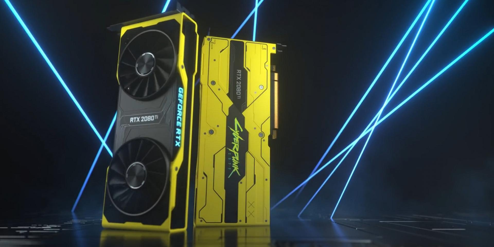 限量77張只抽不賣!NVIDIA推出RTX 2080 Ti推出「電馭叛客2077」聯名款