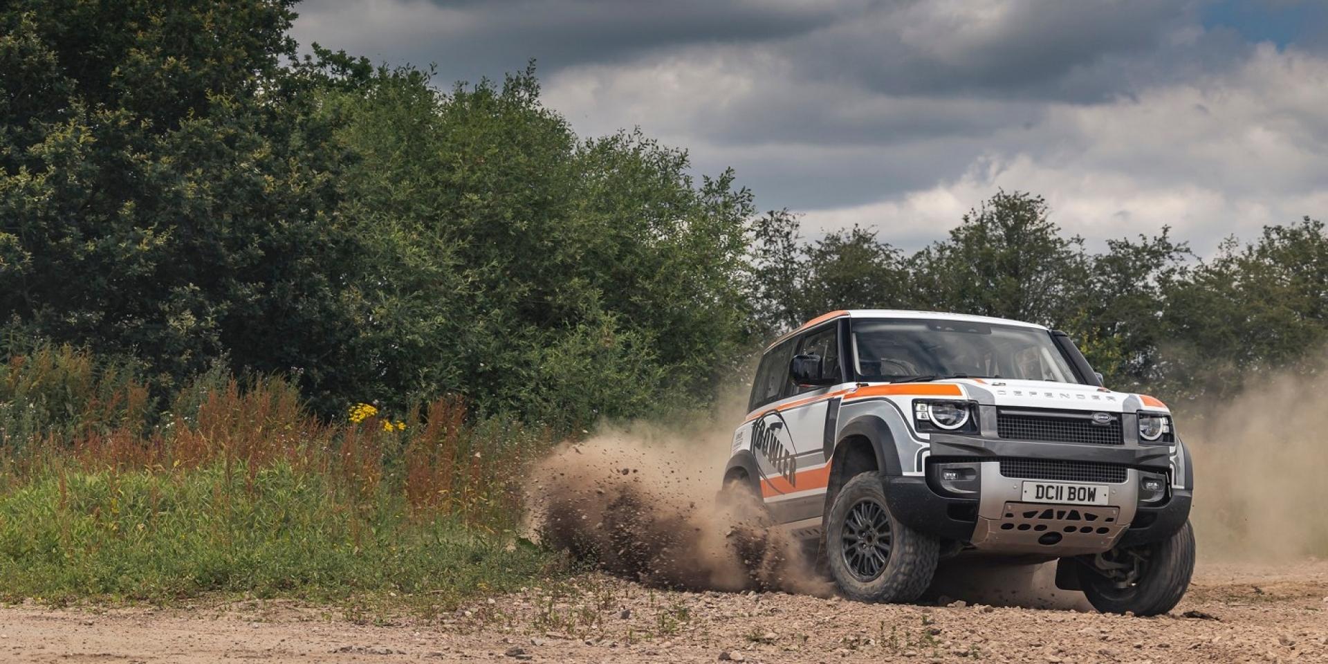 Land Rover Defender跨足賽車,明年舉辦統規系列賽