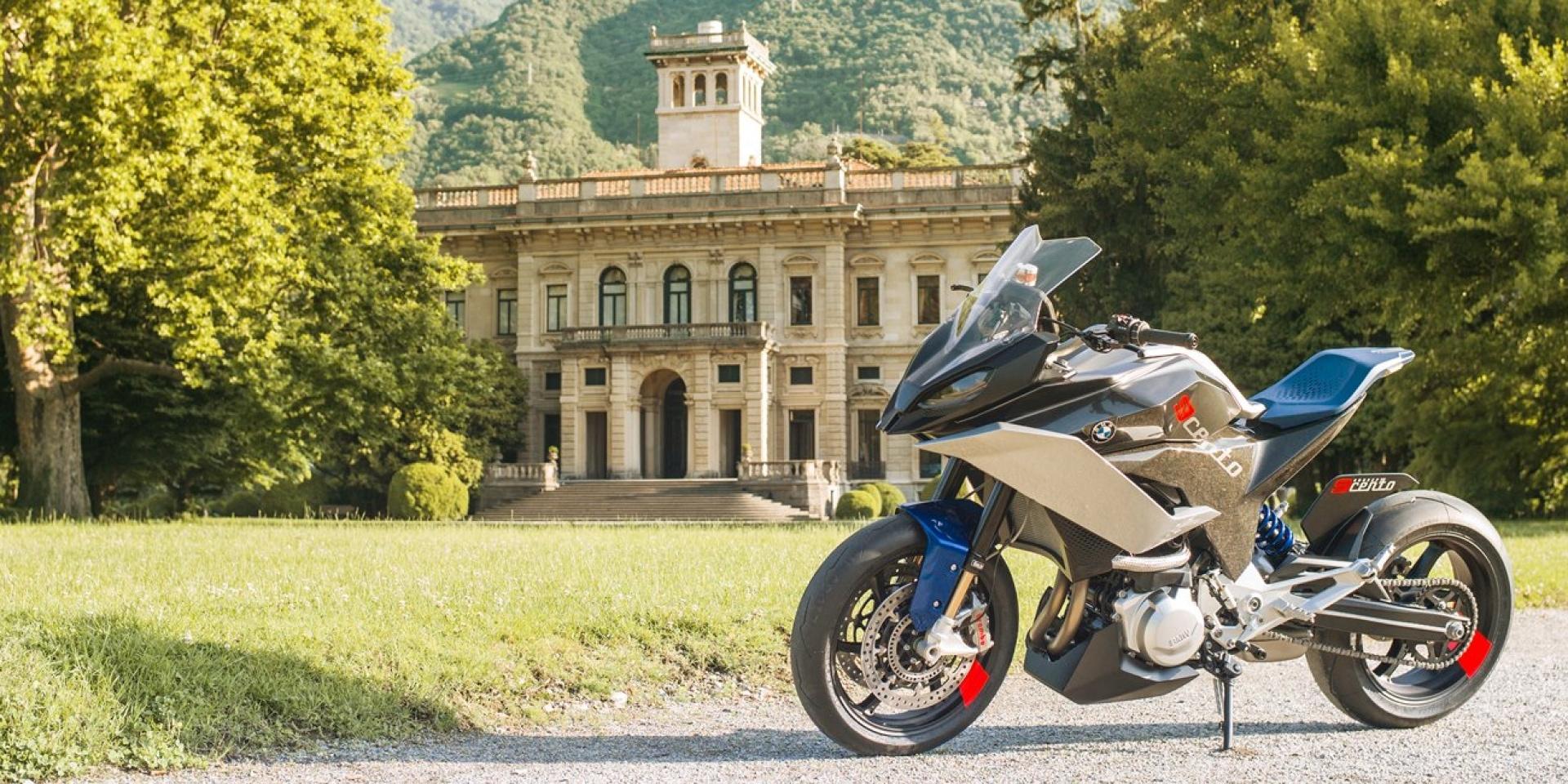 性能、實用同時再進化,BMW Motorrad Concept 9cento登場