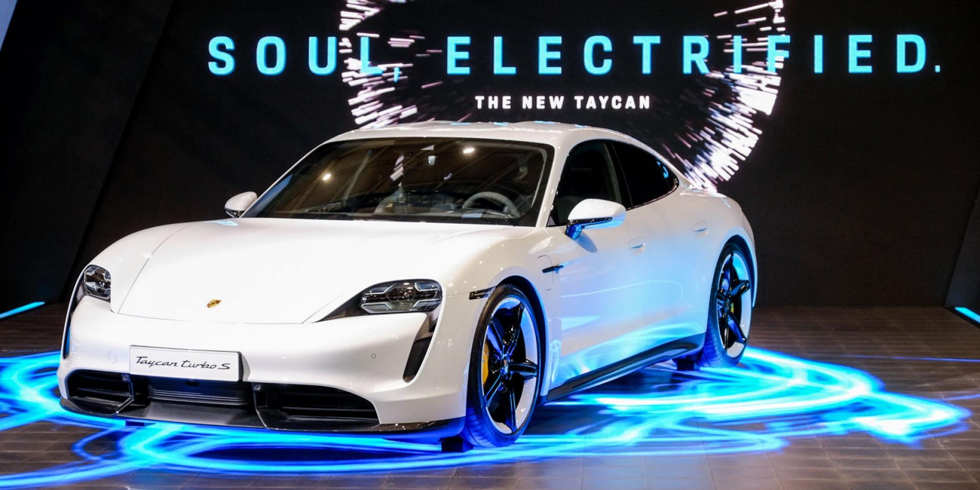 2020世界新車大展。Porsche Taycan正式在台發表