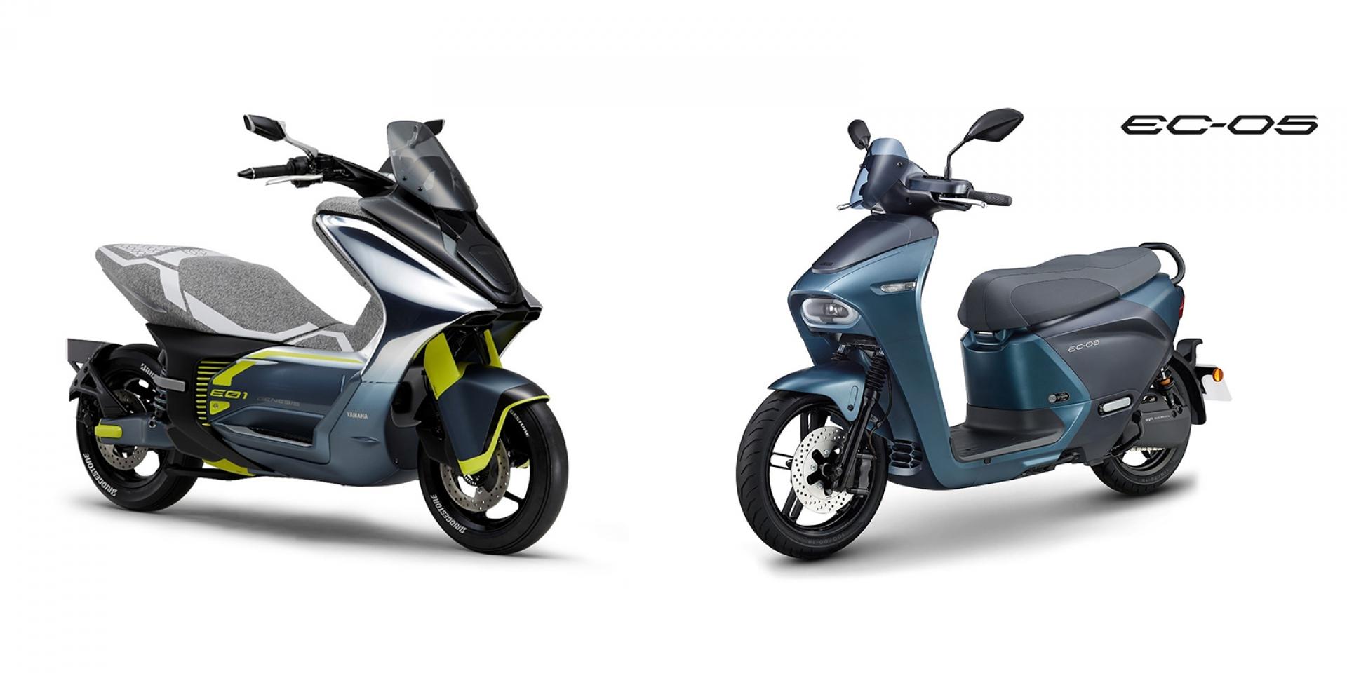 YAMAHA註冊E01/EC-05專利,充、換電雙車進軍歐洲市場?