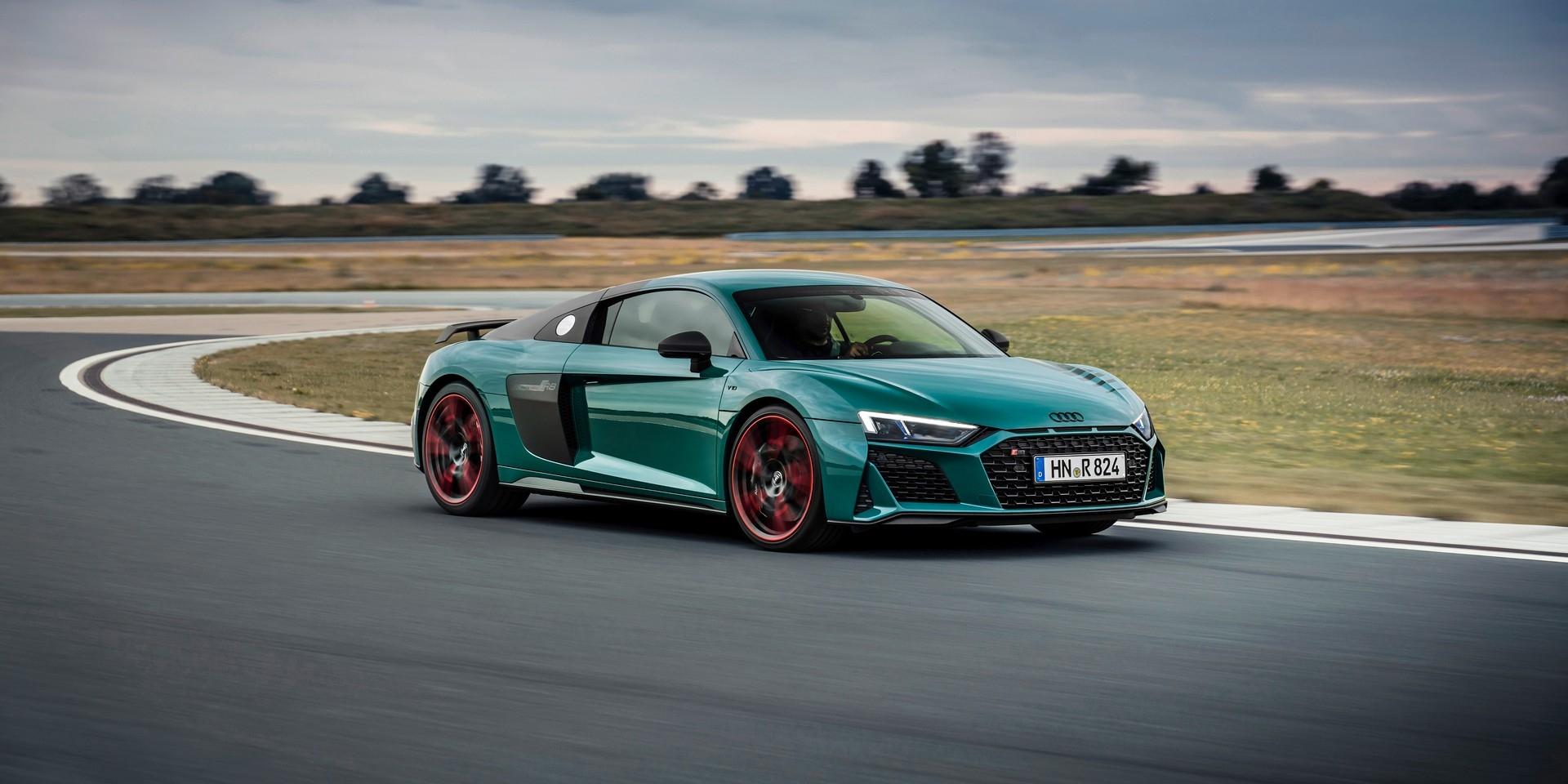 限量綠色地獄特仕車 Audi R8 Green Hell Edition售價約800萬台幣