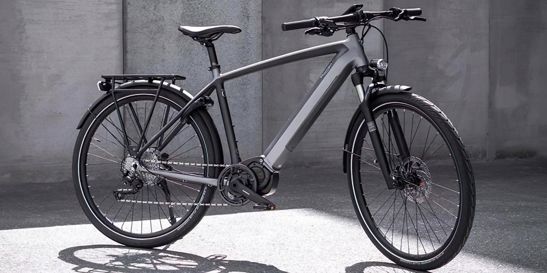 59.6Nm扭力、160公里續航!TRIUMPH 「Trekker GT 電動腳踏車」發表亮相
