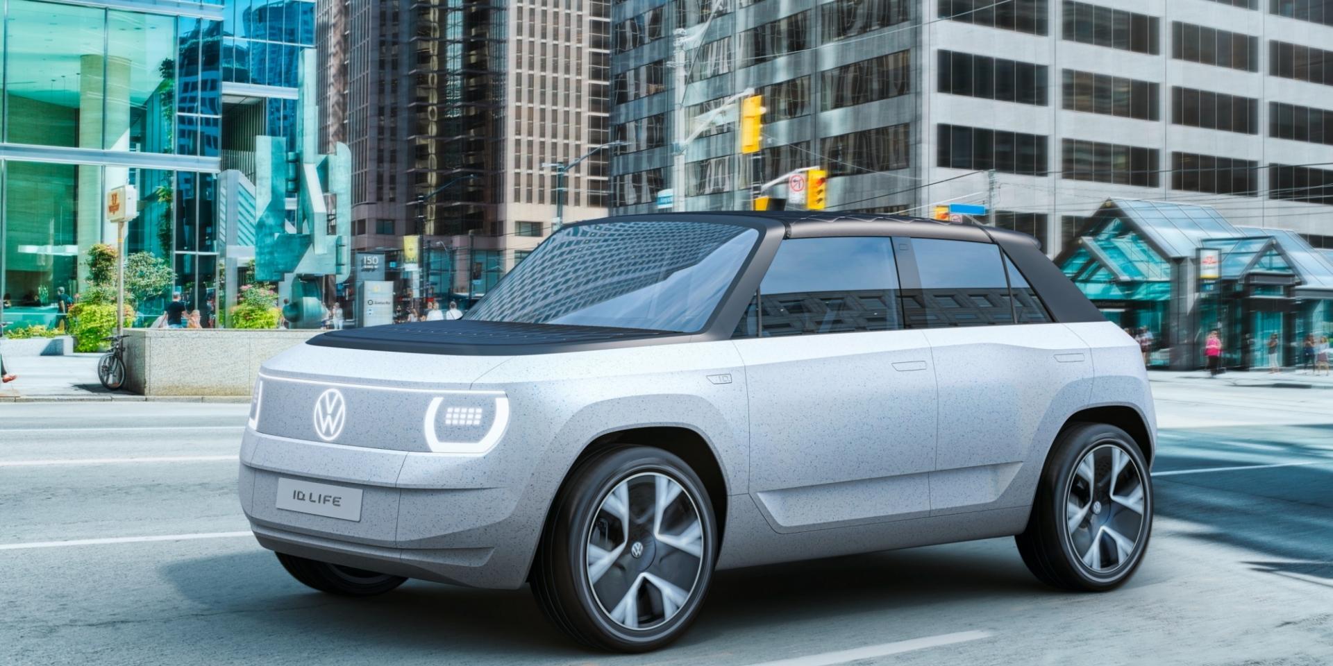 售價比ID.3還要親民!VW ID. Life概念車可能只賣66萬元台幣