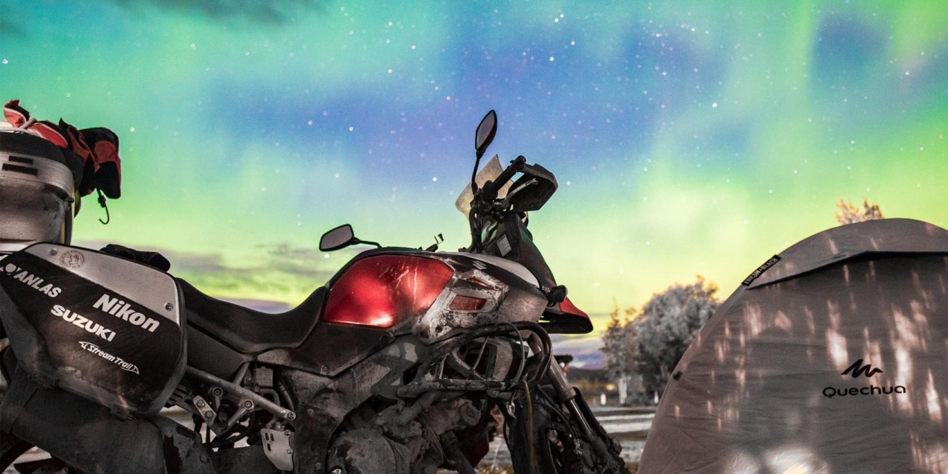 勇闖惡境,SUZUKI V-STROM 1000成功挑戰北極圈