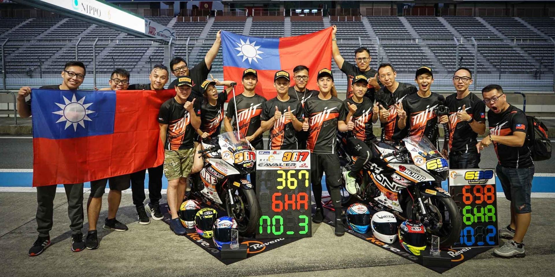 官方新聞稿。台灣之光 台鈴SUZUKI贊助車隊勇奪海外佳績