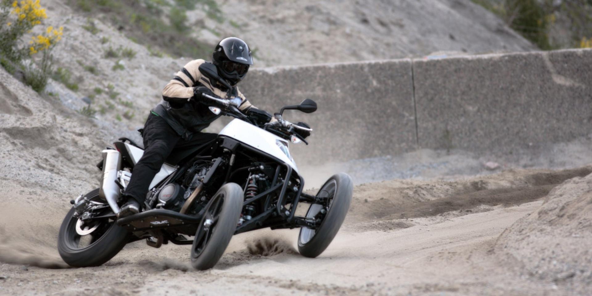 三輪車性能化,YAMAHA 買下挪威公司三輪車專利