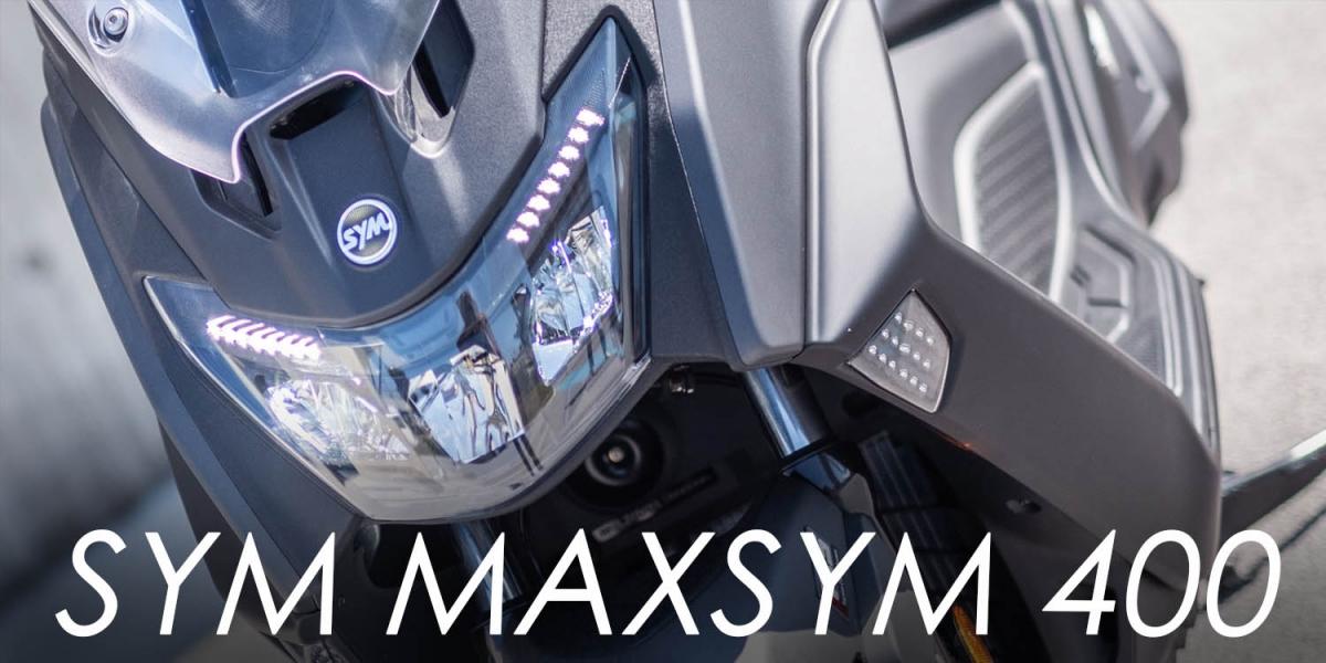 循跡、KEYLESS導入!SYM MAXSYM 400 面面俱到 新世代休旅大羊