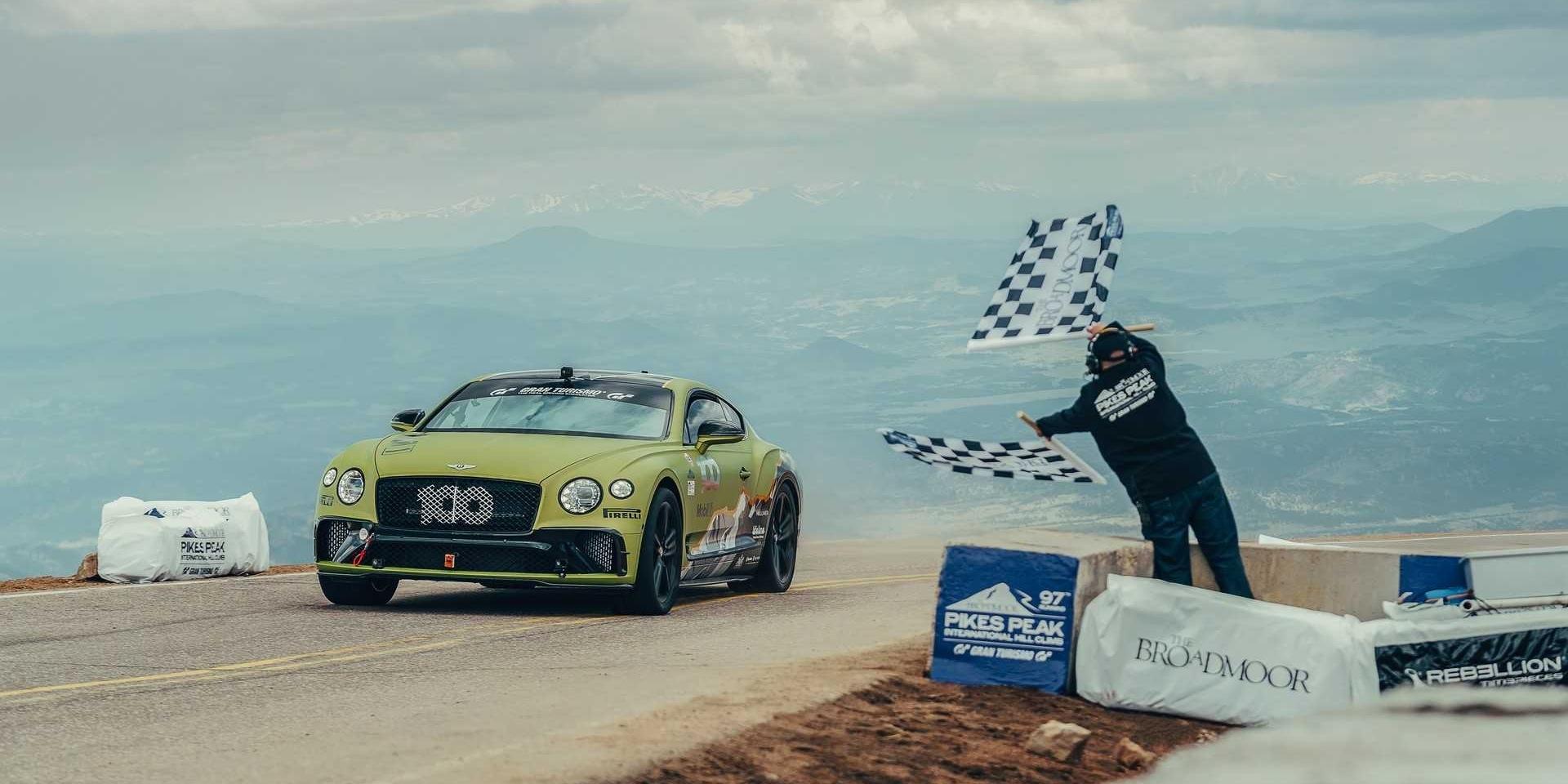 派克峰最速量產車破紀錄!Bentley Continental GT拿下!