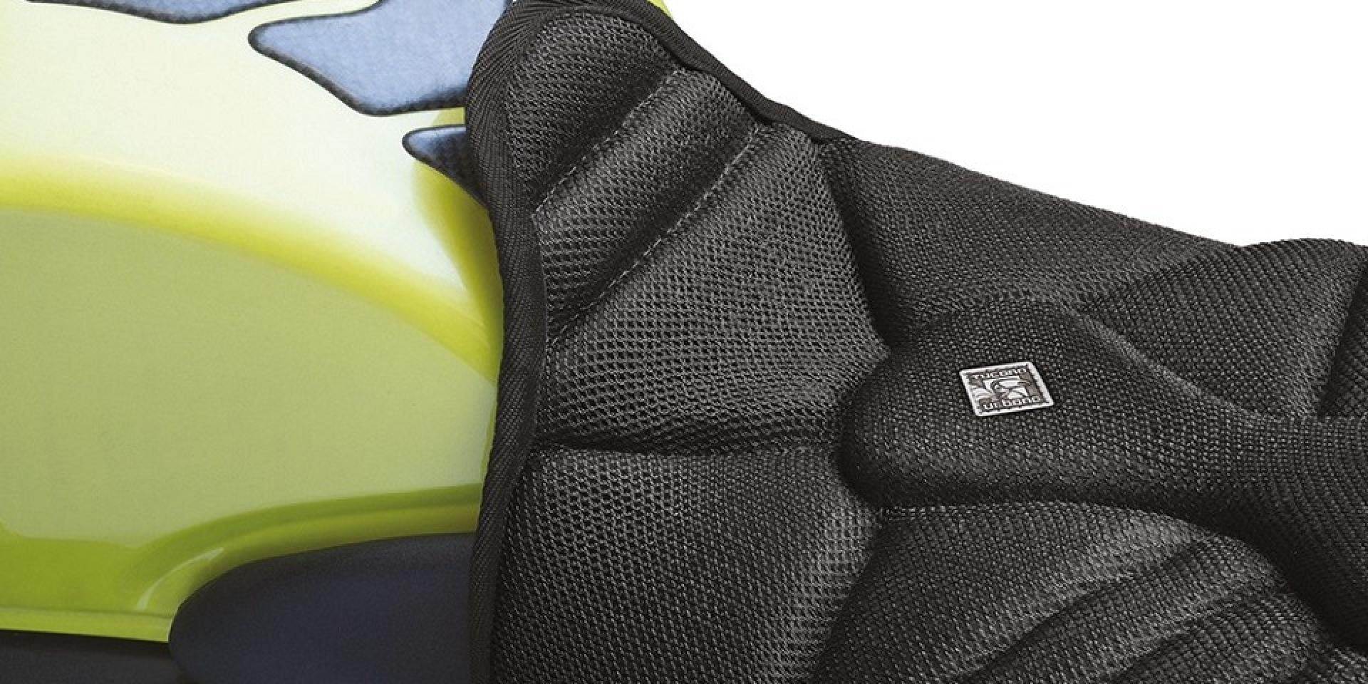 騎士胯下氣冷系統 。TUCANO URBANO透氣坐墊