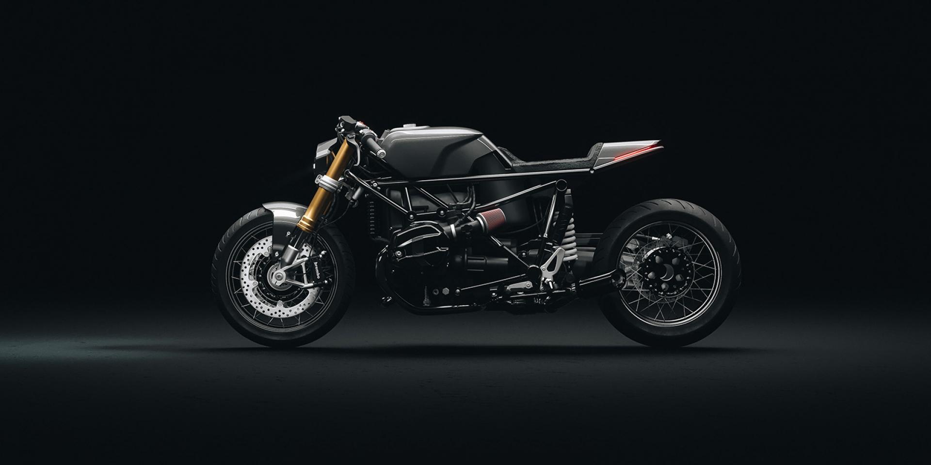 咖啡騎士精神永不滅。BMW R NineT Cobra by Hookie Company