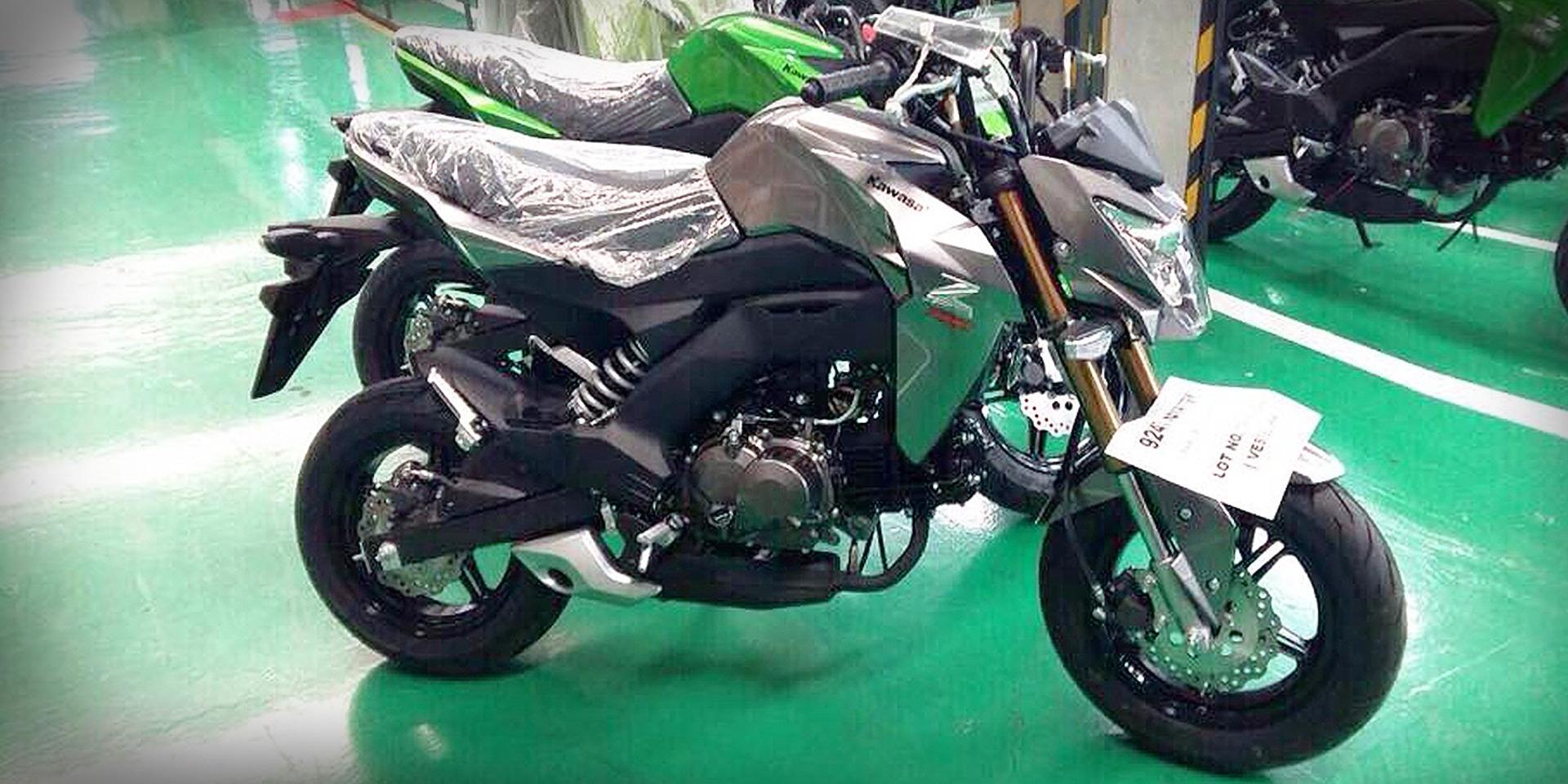小輪輕檔玩樂主義。Kawasaki Z125 間諜照泰國曝光