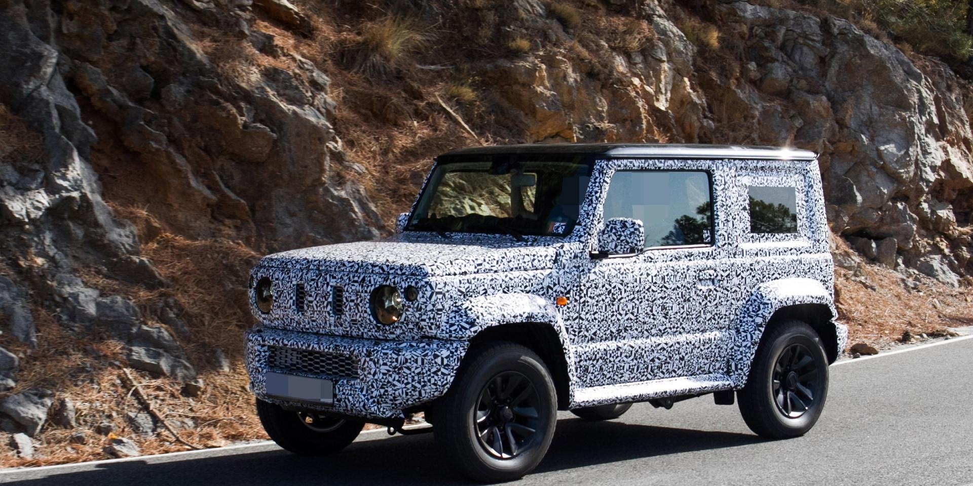平民Gcar即將發表,Suzuki第四代Jimny六月登場!