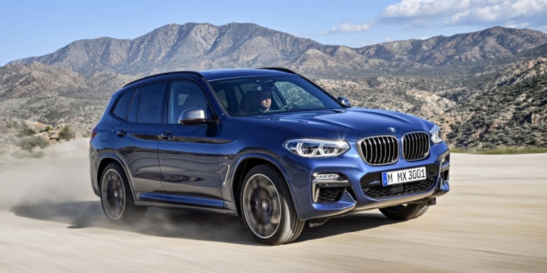 BMW 全新 X3 強勢來襲,M Performance首次登場!