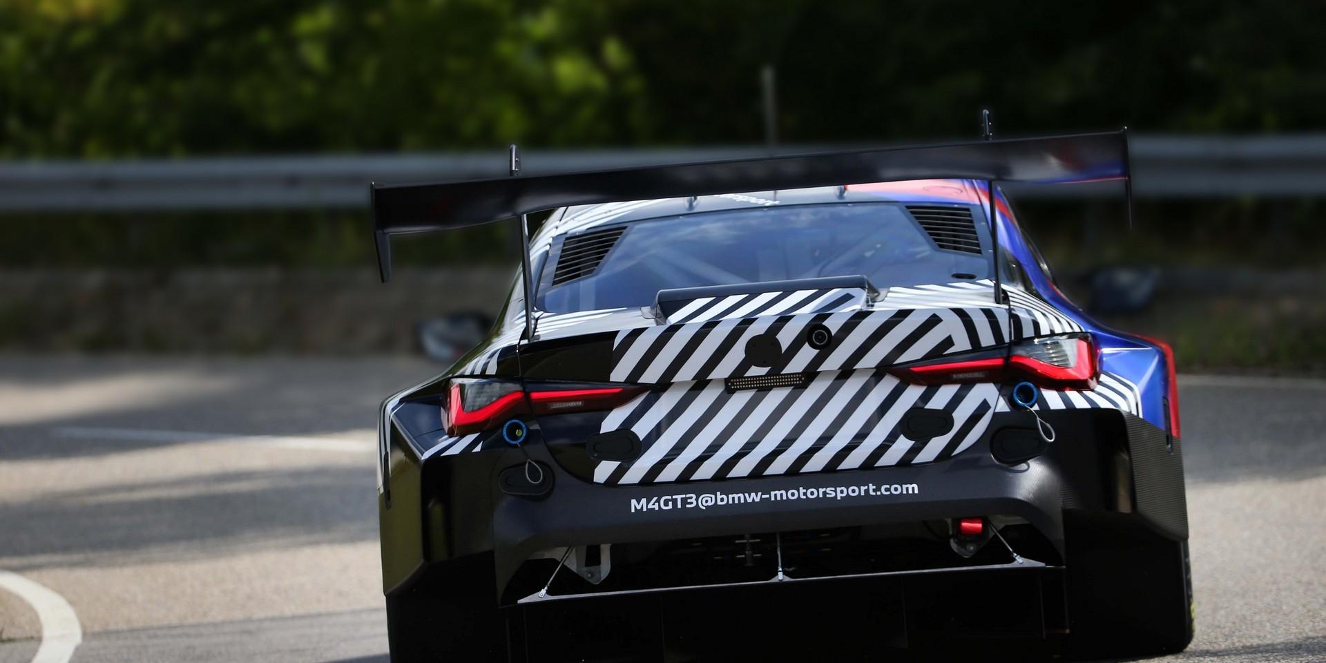 取代現行M6 GT3,BMW M4 GT3進入最終測試階段