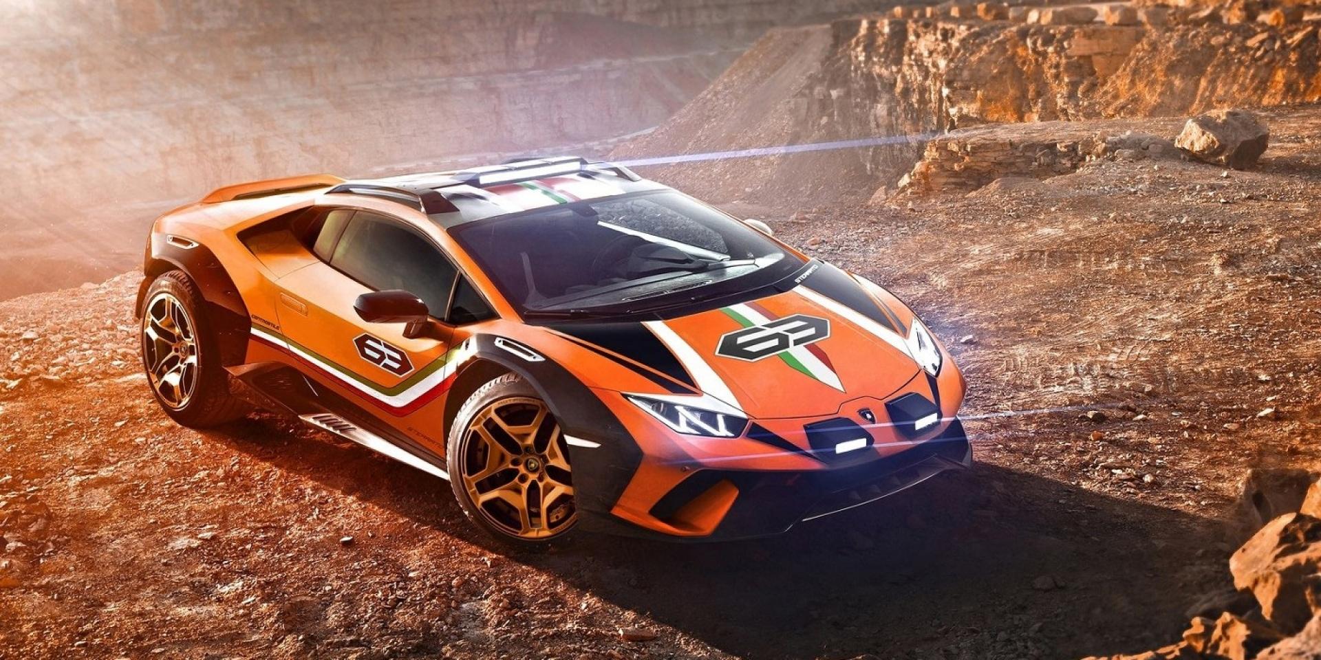 跨足越野,Lamborghini Huracan Sterrato Concept概念車