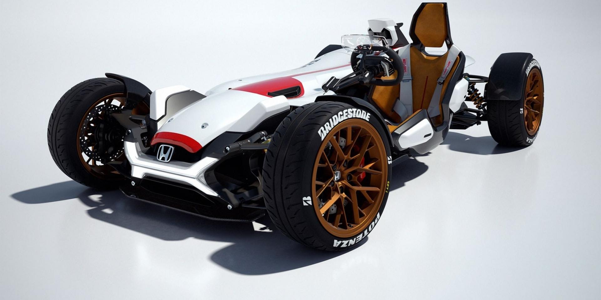 HONDA RCV 四輪版即將量產?LIGHTWEIGHT PROJECT 2&4最新專利圖曝光