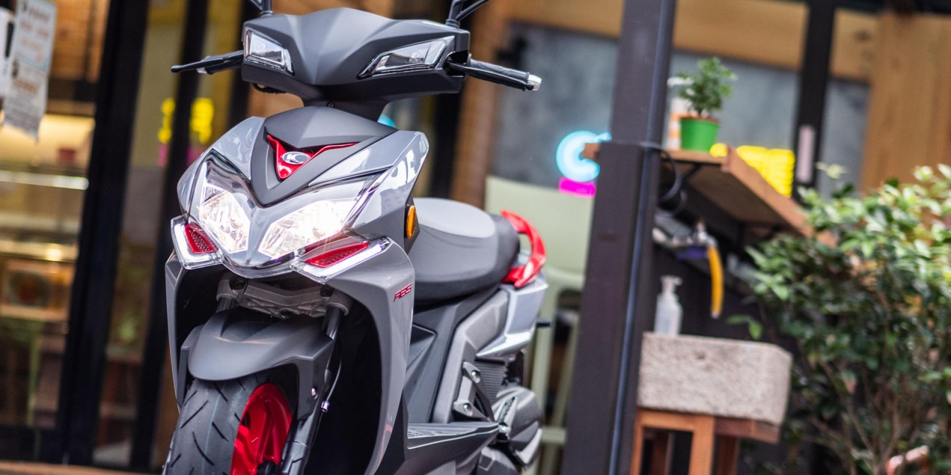 日本媒體大力讚賞「動力輕快、配備豐富」!KYMCO Racing S 150 ABS新色上市