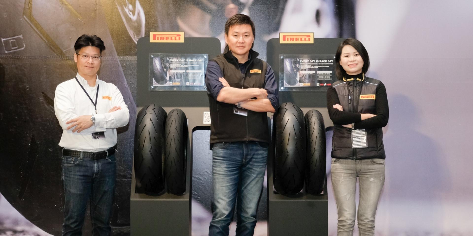複合材質注入前輪,PIRELLI DIABLO ROSSO™ CORSA II台灣發表
