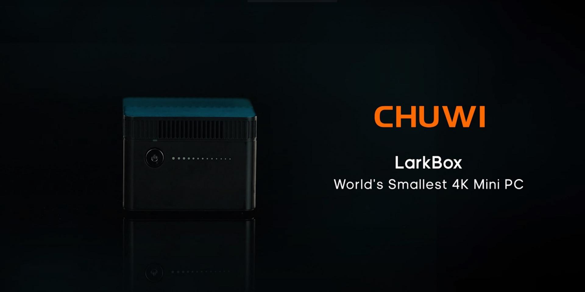 幾乎跟棒球一樣大!中國馳為創新科技推出迷你電腦Larkbox!