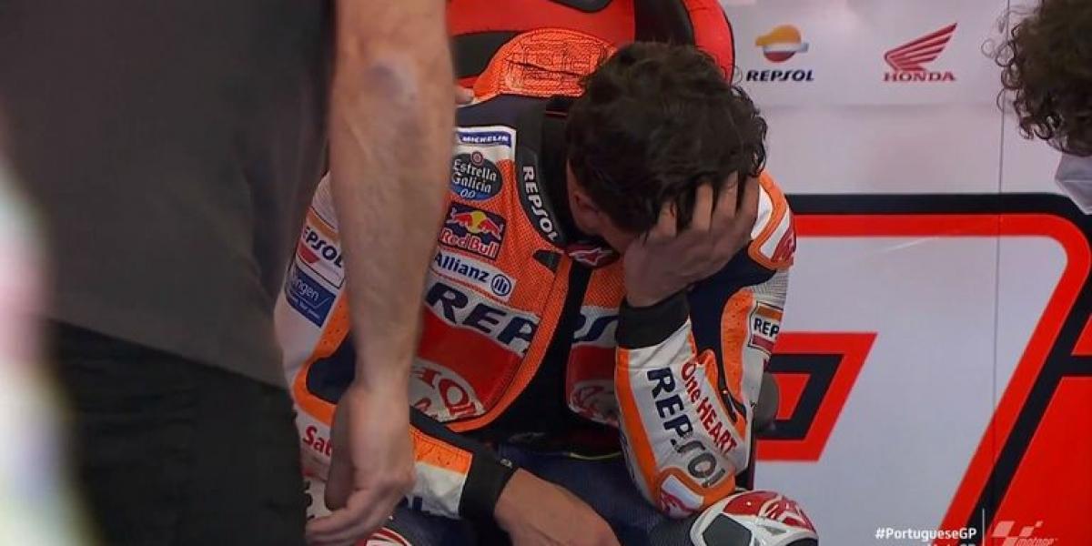 傷癒復出的完賽第七,Marc Marquez:我再也無法控制自己的情緒澎派!