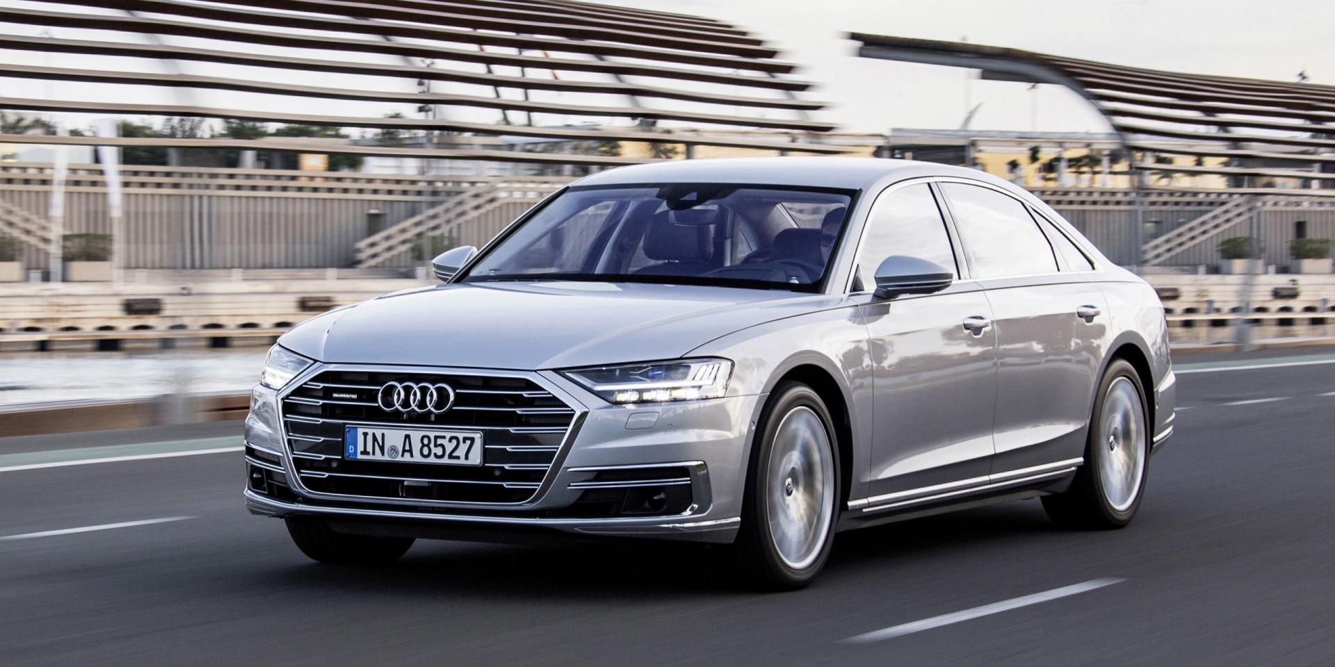 官方新聞稿。全新2021年式產品陣列微調  Audi A8 | A8 L車系安全豪華配備再升級