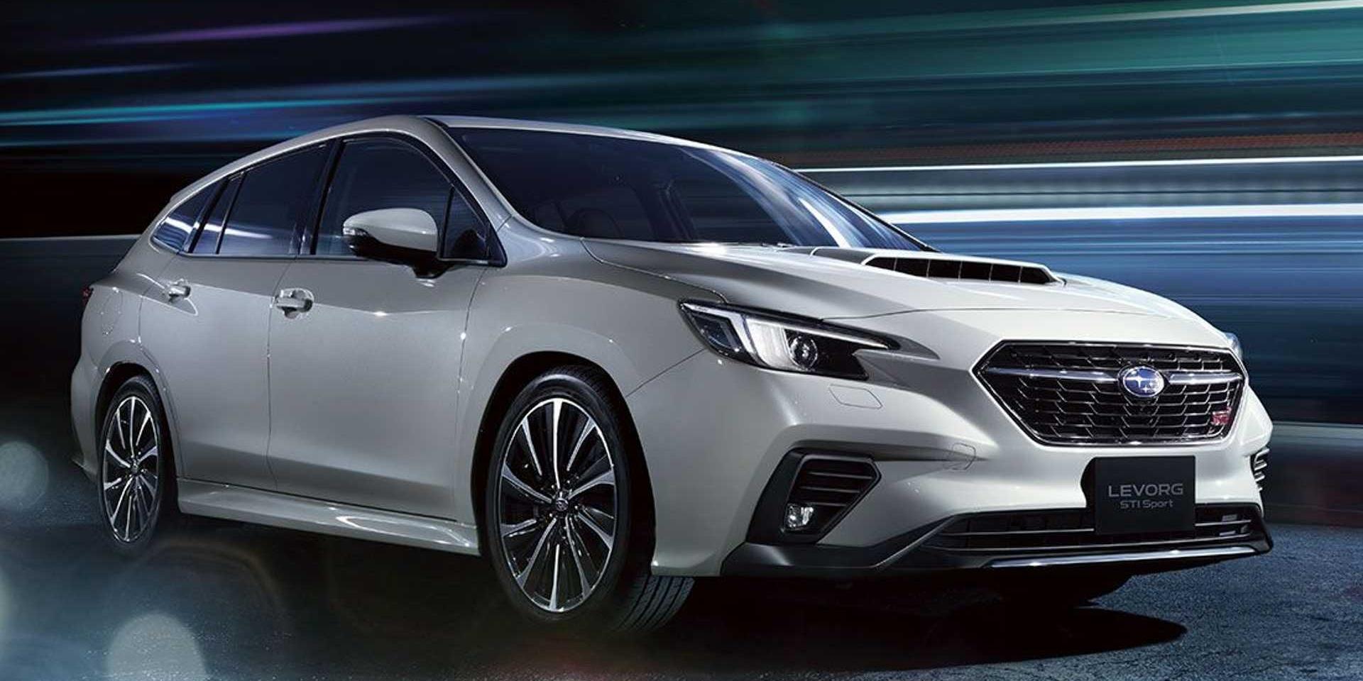 Subaru全新Levorg曝光!EyeSight新科技加上全新動力上身!