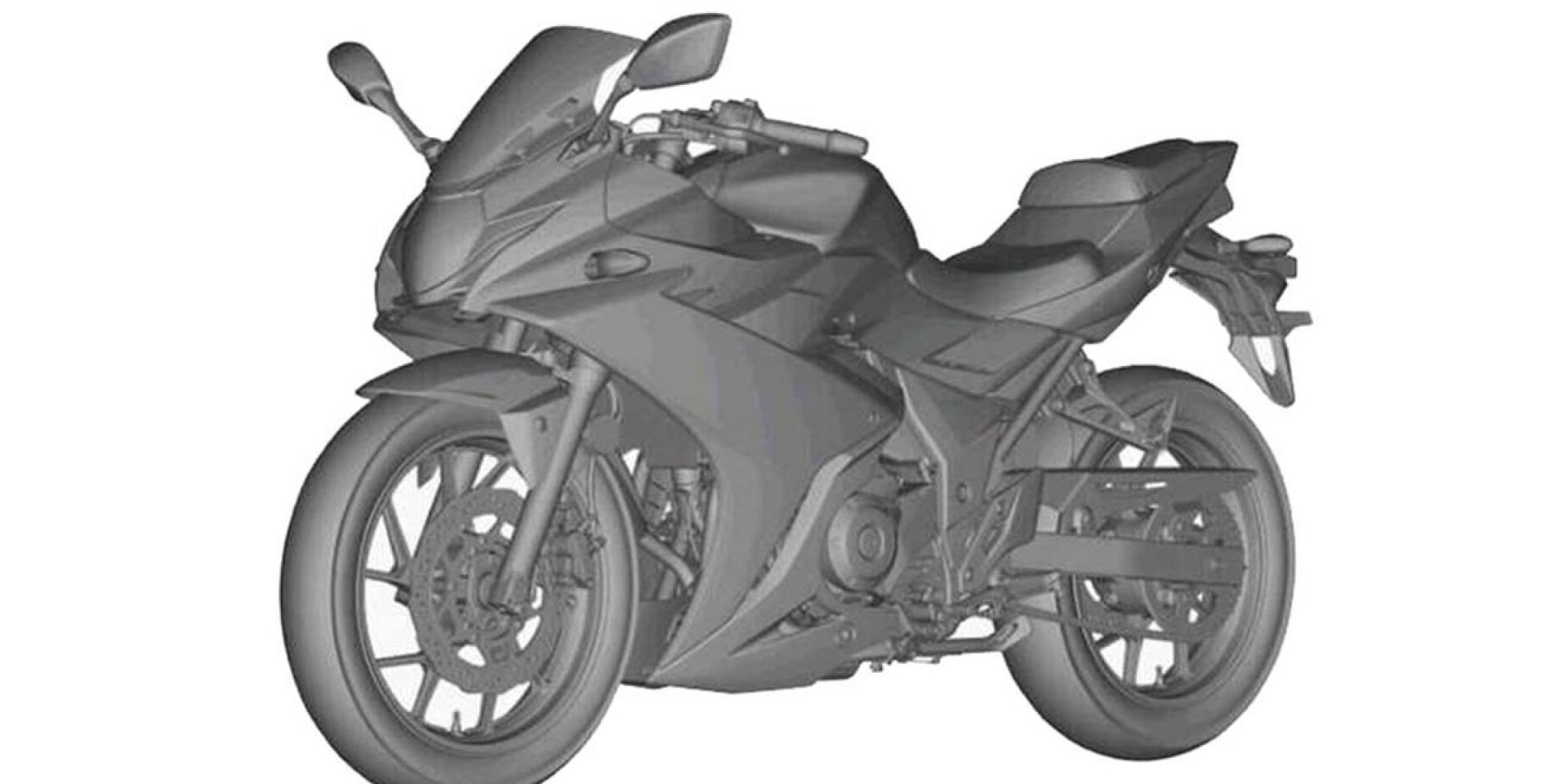 SUZUKI GSX-R250造型專利圖流出