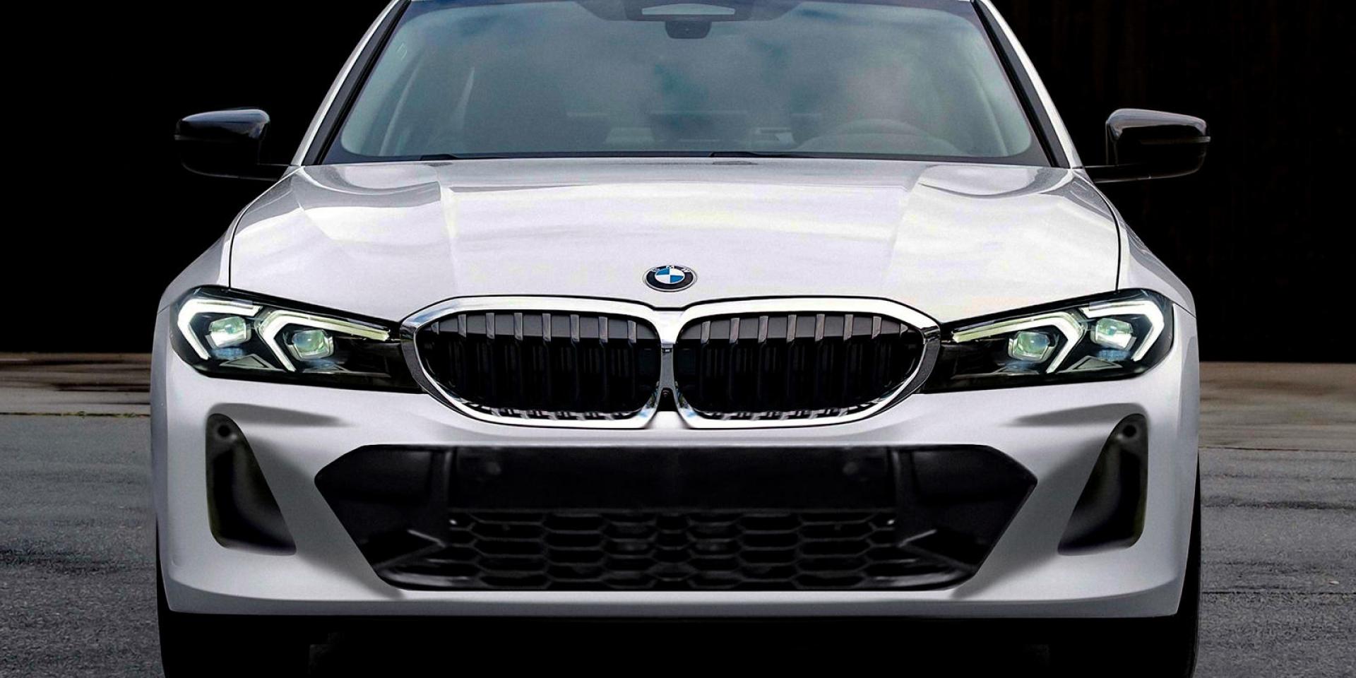 大鼻孔時代過去!小改款BMW 3系列專利照片曝光!