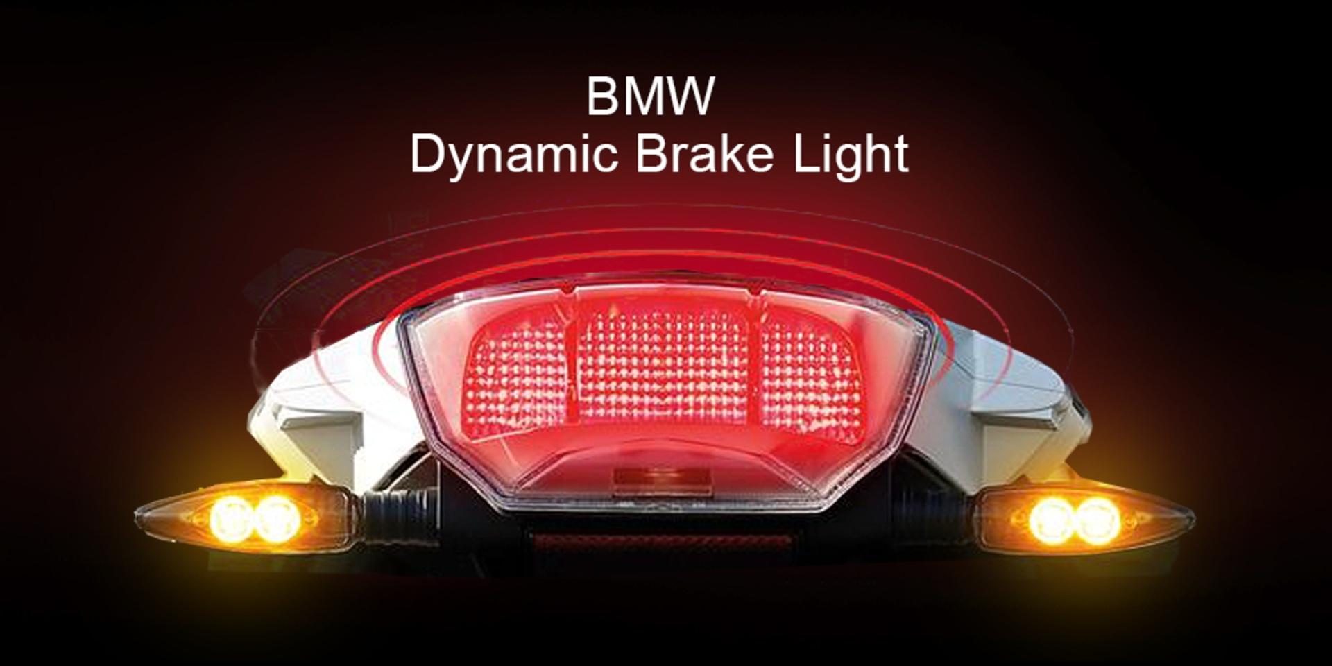 更安全的智慧煞車燈!BMW Dynamic Brake Light
