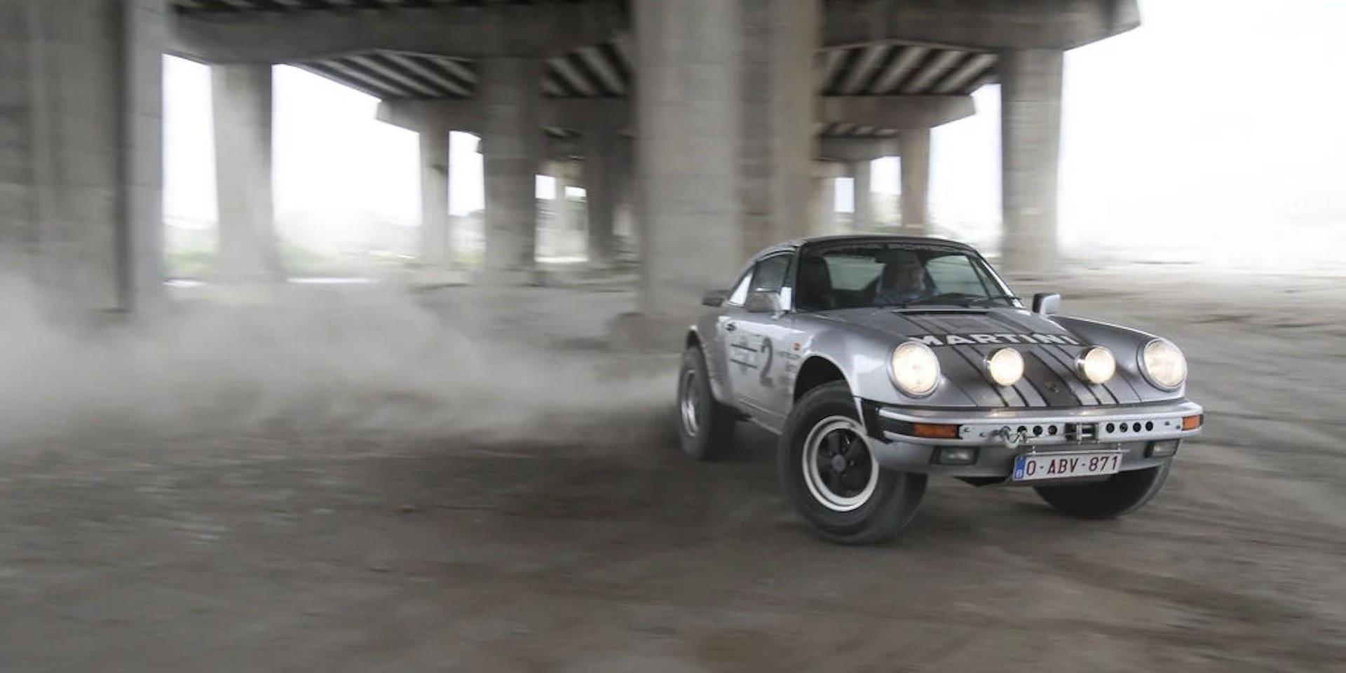 開著保時捷去探險,Porsche 911 Safari現正熱賣中