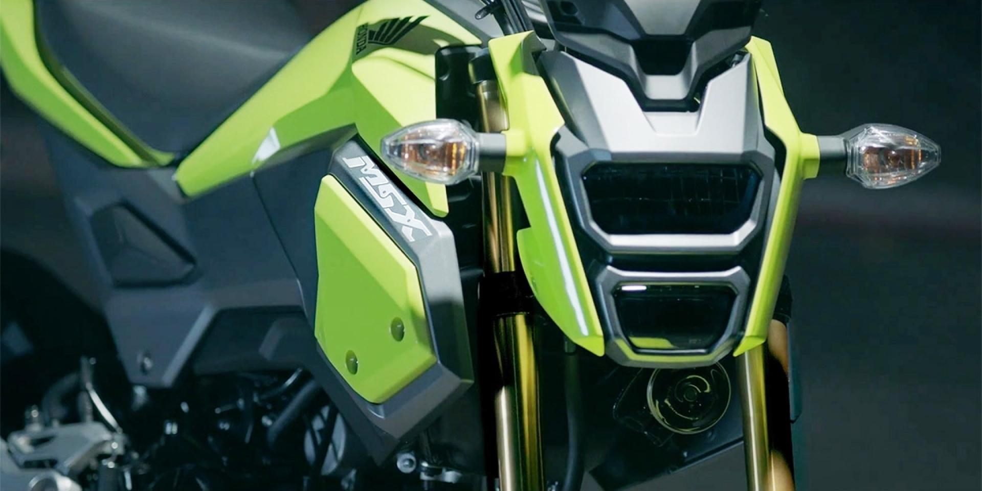 潮流再進化。 2016 Honda MSX125 改款上市