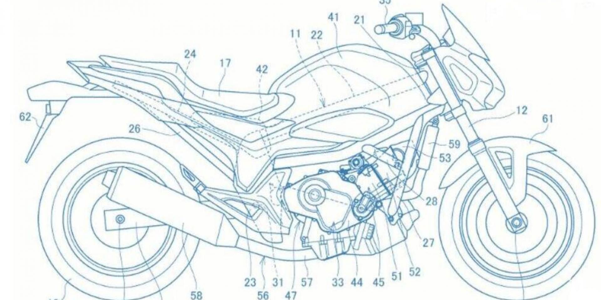 Honda新引擎專利申請 可能是800或850cc!