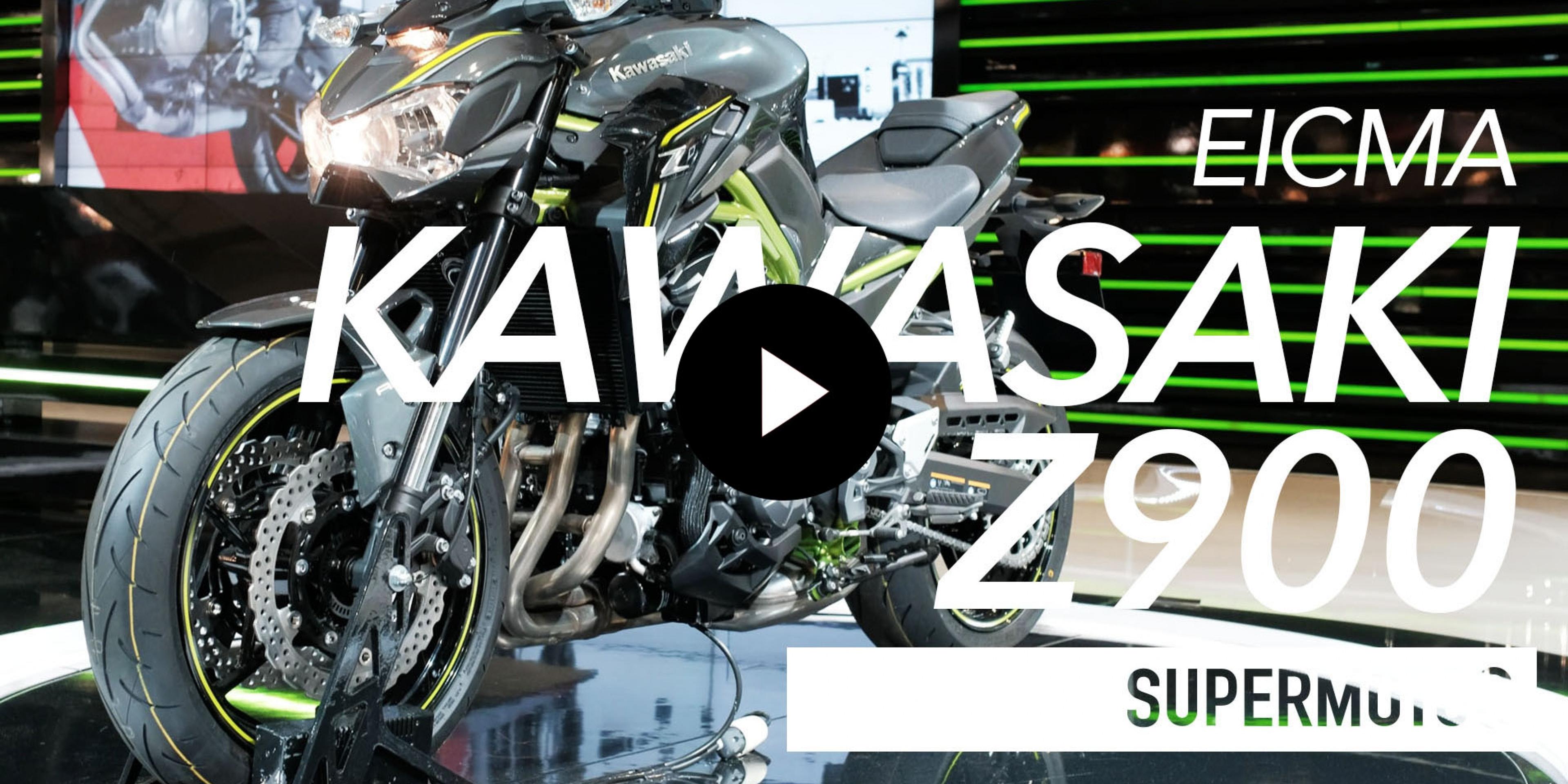 2017 KAWASAKI Z900 米蘭車展實拍